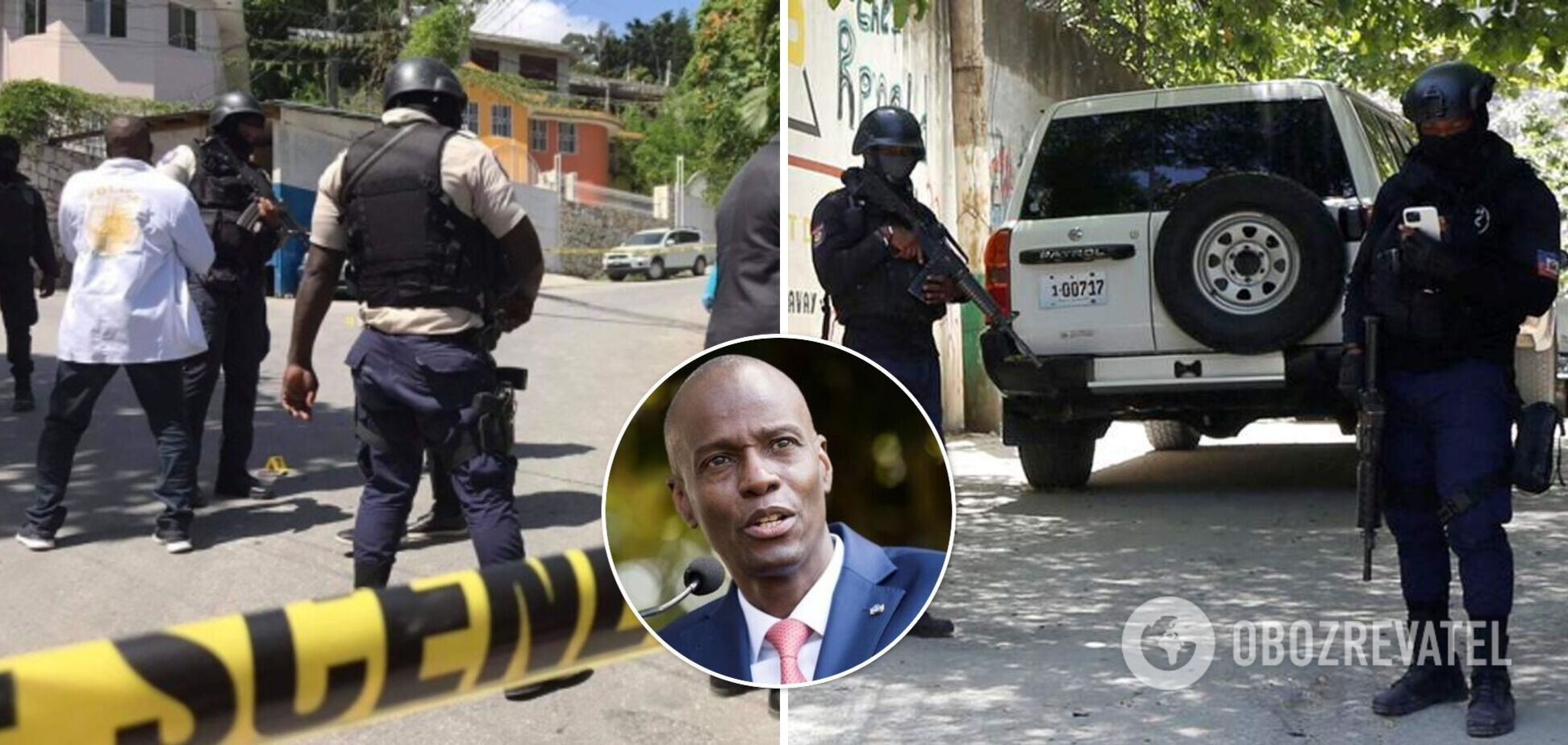 Убийство президента Гаити: четырех человек ликвидировали, шестерых задержали