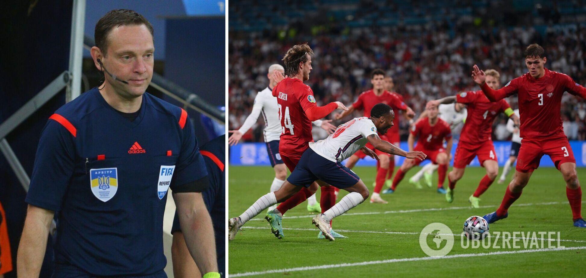 Евгений Арановский оценил пенальти в матче Англия Дания