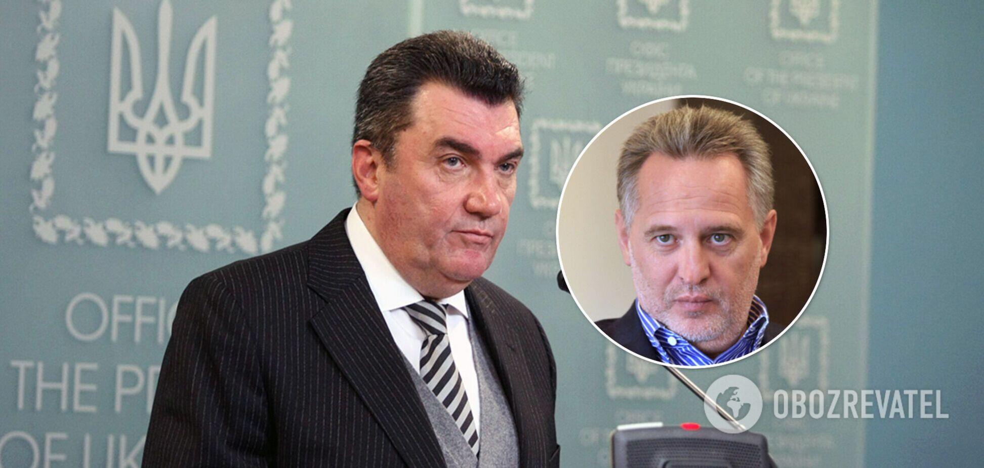 Данилов пояснил, почему в Украине продолжают работать предприятия подсанкционного Фирташа