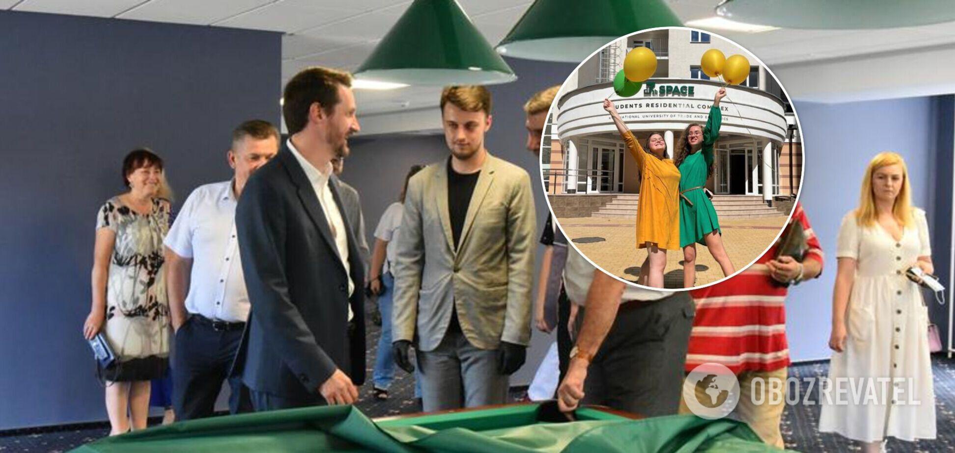 З кінотеатром та перукарнею: у Києві відкрили найсучасніший студентський гуртожиток в Україні. Фото