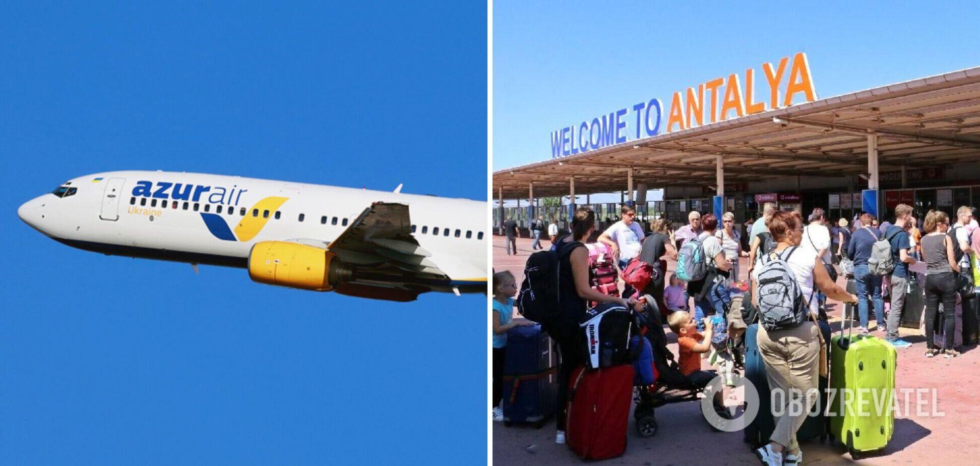 У турецькій Анталії застрягли українські туристи, рейс затримується на 10 годин