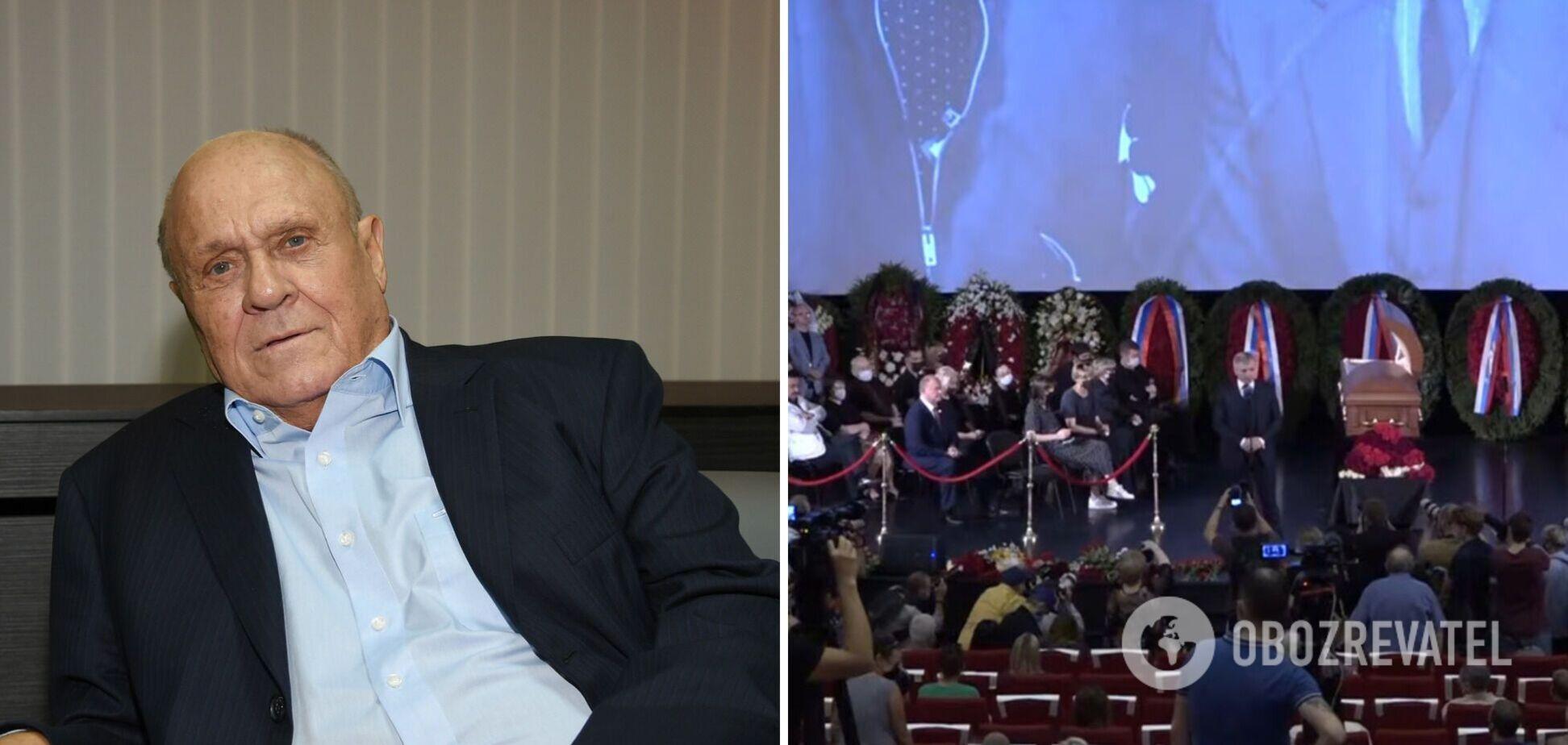 В Москве прощаются с режиссером Меньшовым: на похороны пришла его жена. Фото и видео