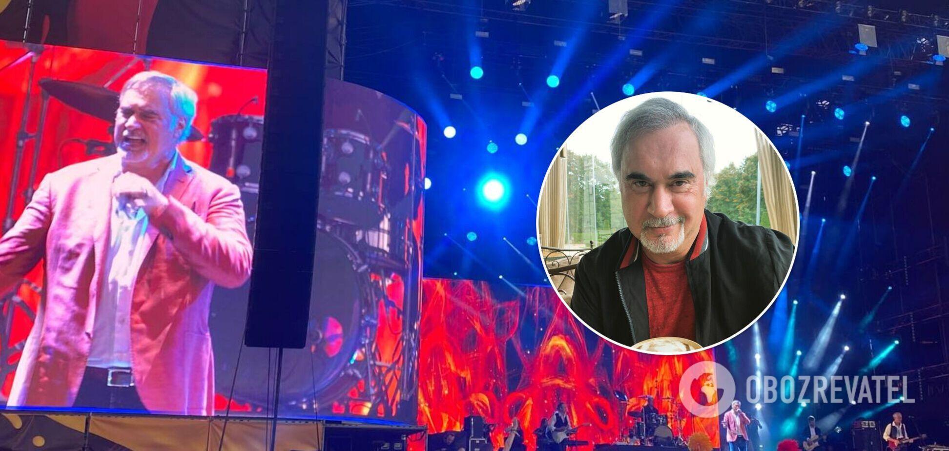 Валерий Меладзе заговорил на украинском языке на сцене Atlas Weekend 2021. Видео