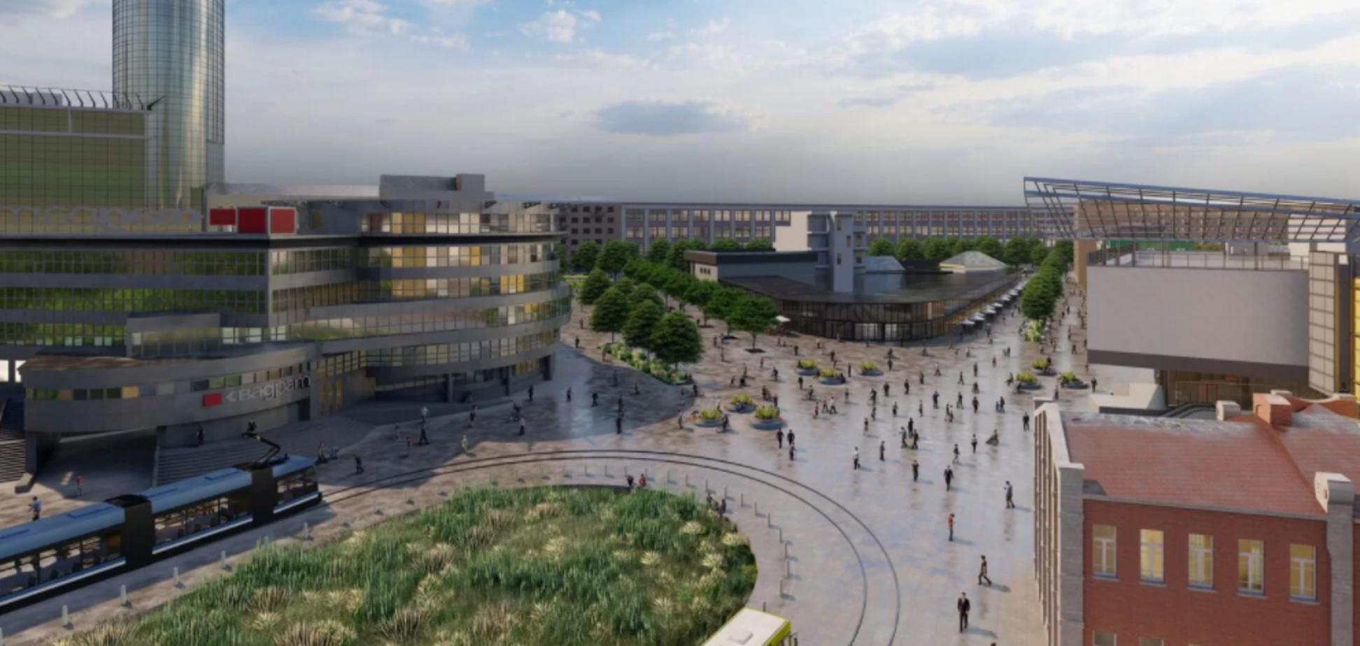 Лук'янівська площа в Києві може змінитися до невпізнання: проєкт оновлення придумали студенти. Фото