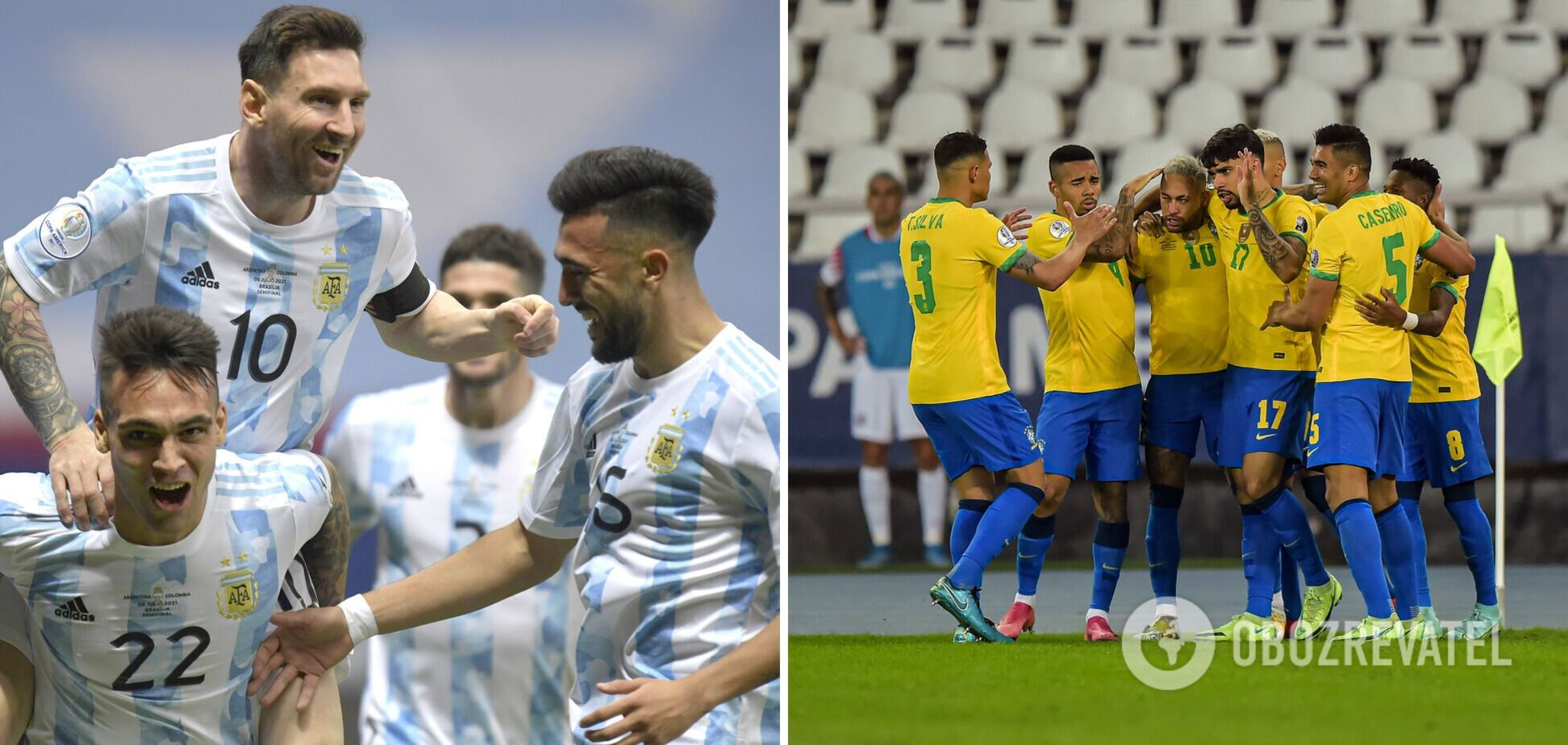 Аргентина Бразилія де дивитися фінал Кубка Америки