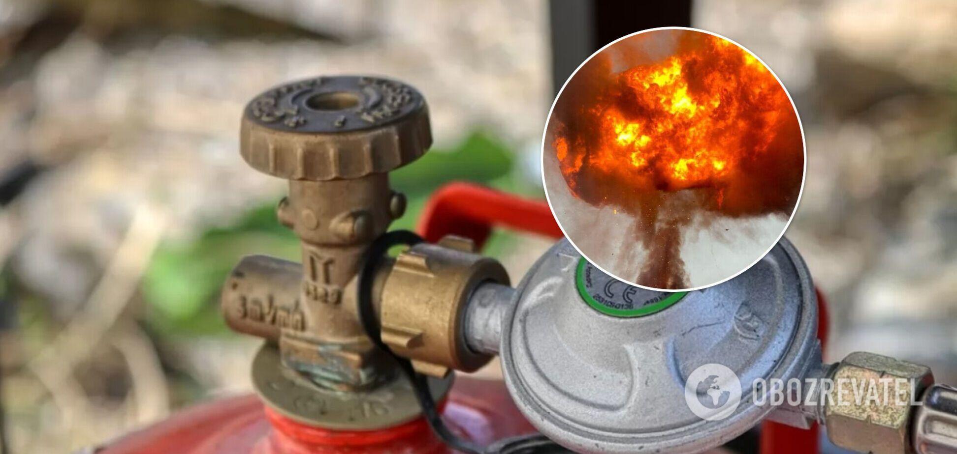 На Одещині в приватному будинку вибухнув газовий балон, є постраждалий. Фото