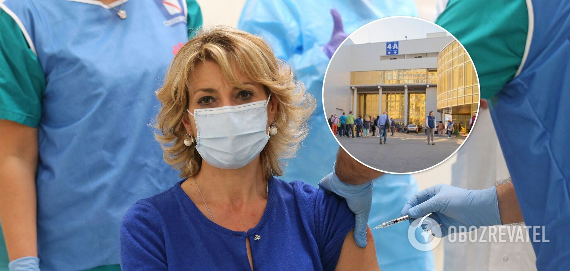 В Киеве рекордными темпами вакцинируют от COVID-19: в КГГА озвучили дальнейшие планы