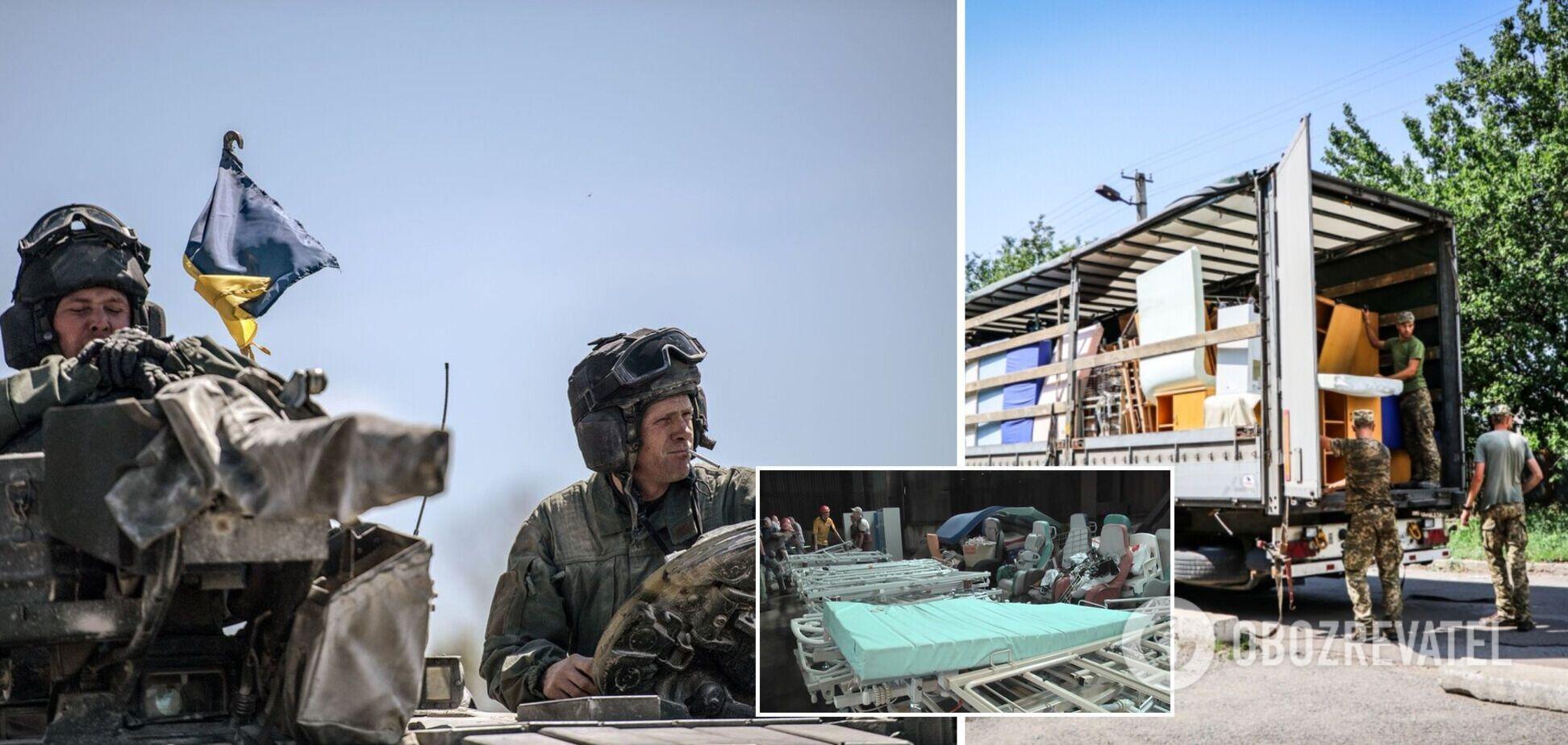 Франція передала українським військовим гуманітарну допомогу на 3 млн грн. Фото