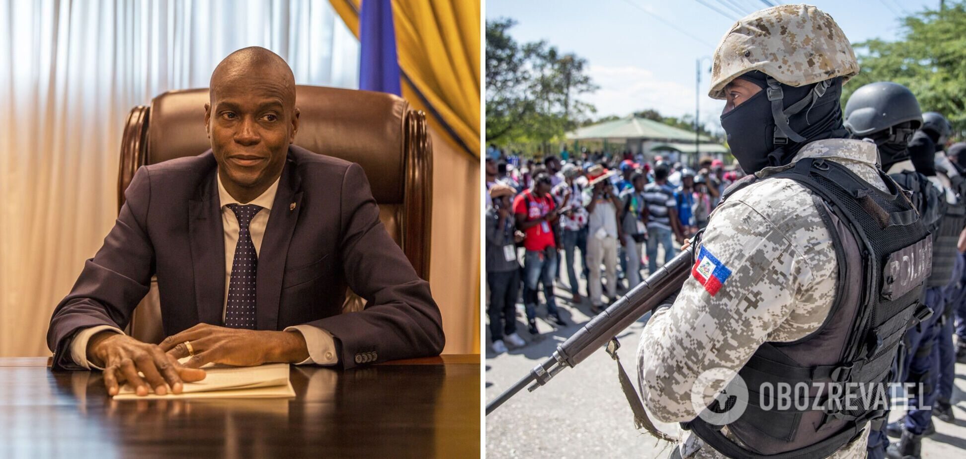 На Гаїті назвали причетних до вбивства президента