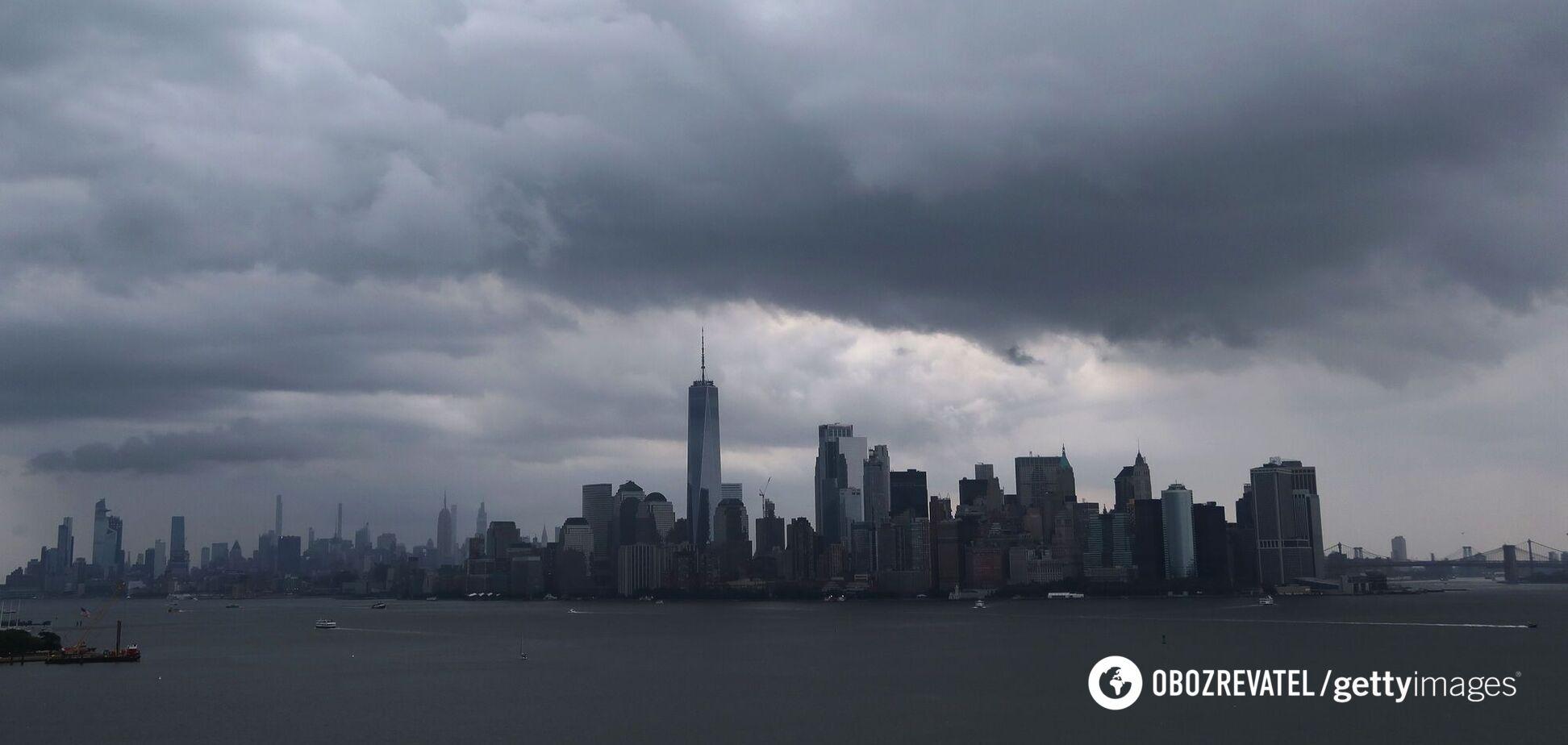 У Нью-Йорку пройшли зливи