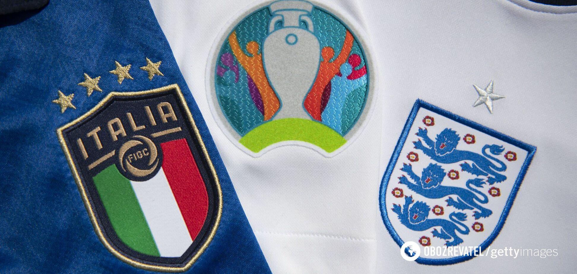 Италия Англия прогноз на финал Евро 2020
