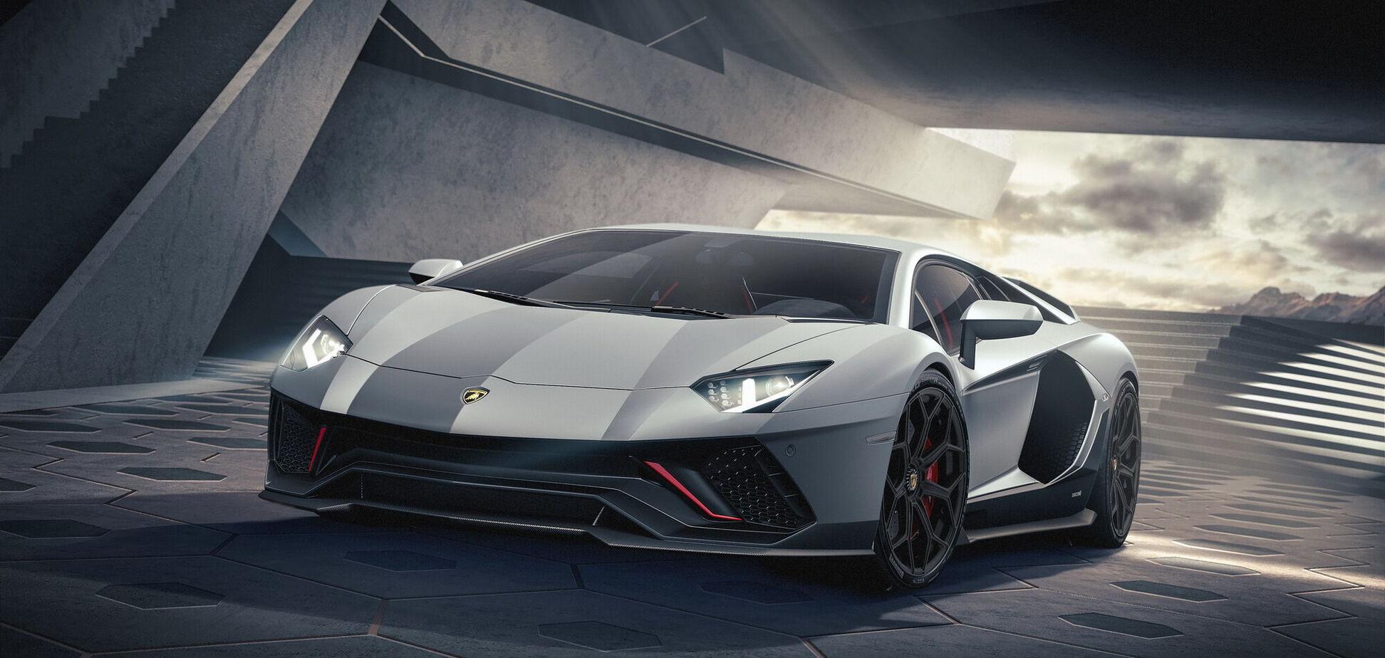 Lamborghini підготував 'прощальну' версію суперкара Aventador