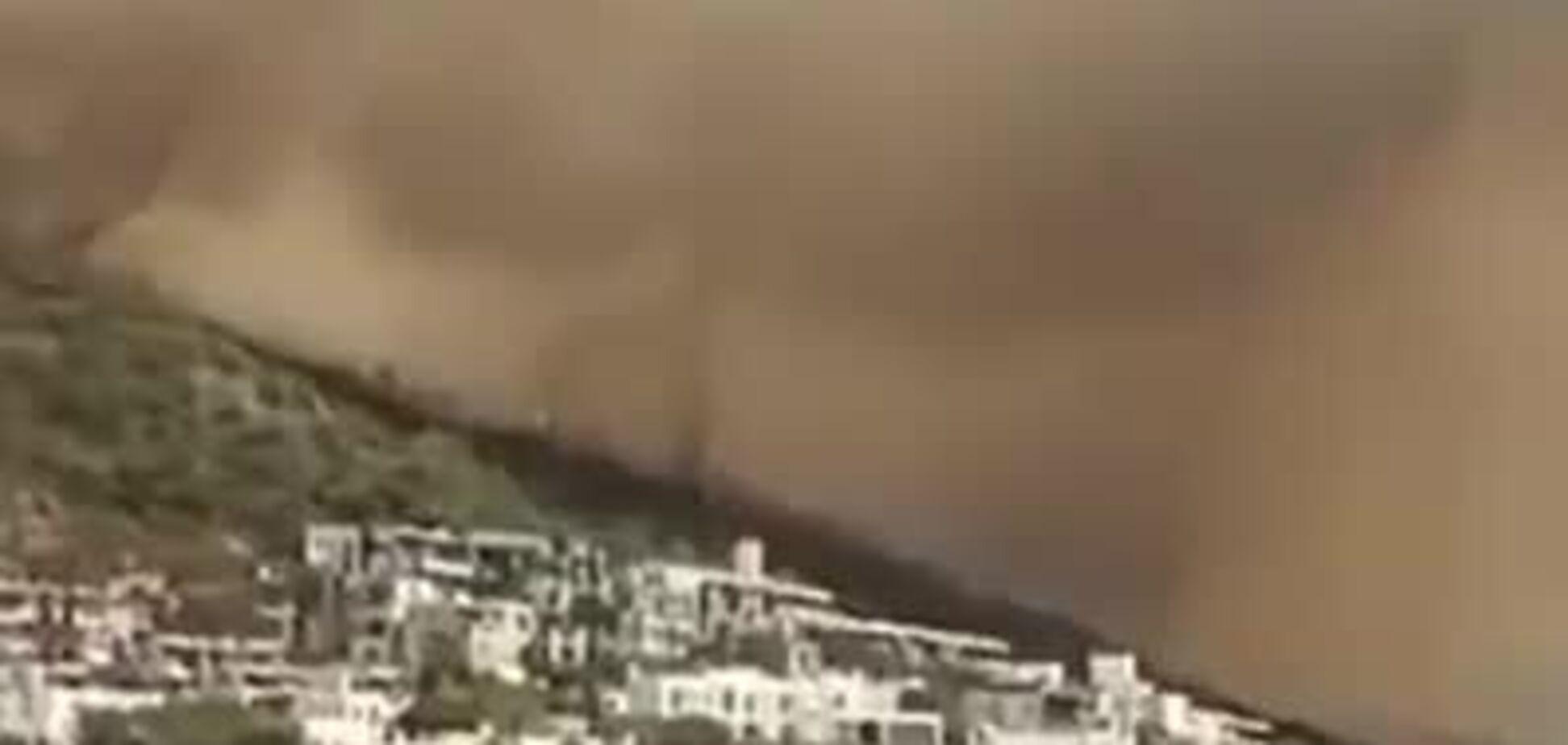 Лісові пожежі в Туреччині досягли курортних зон