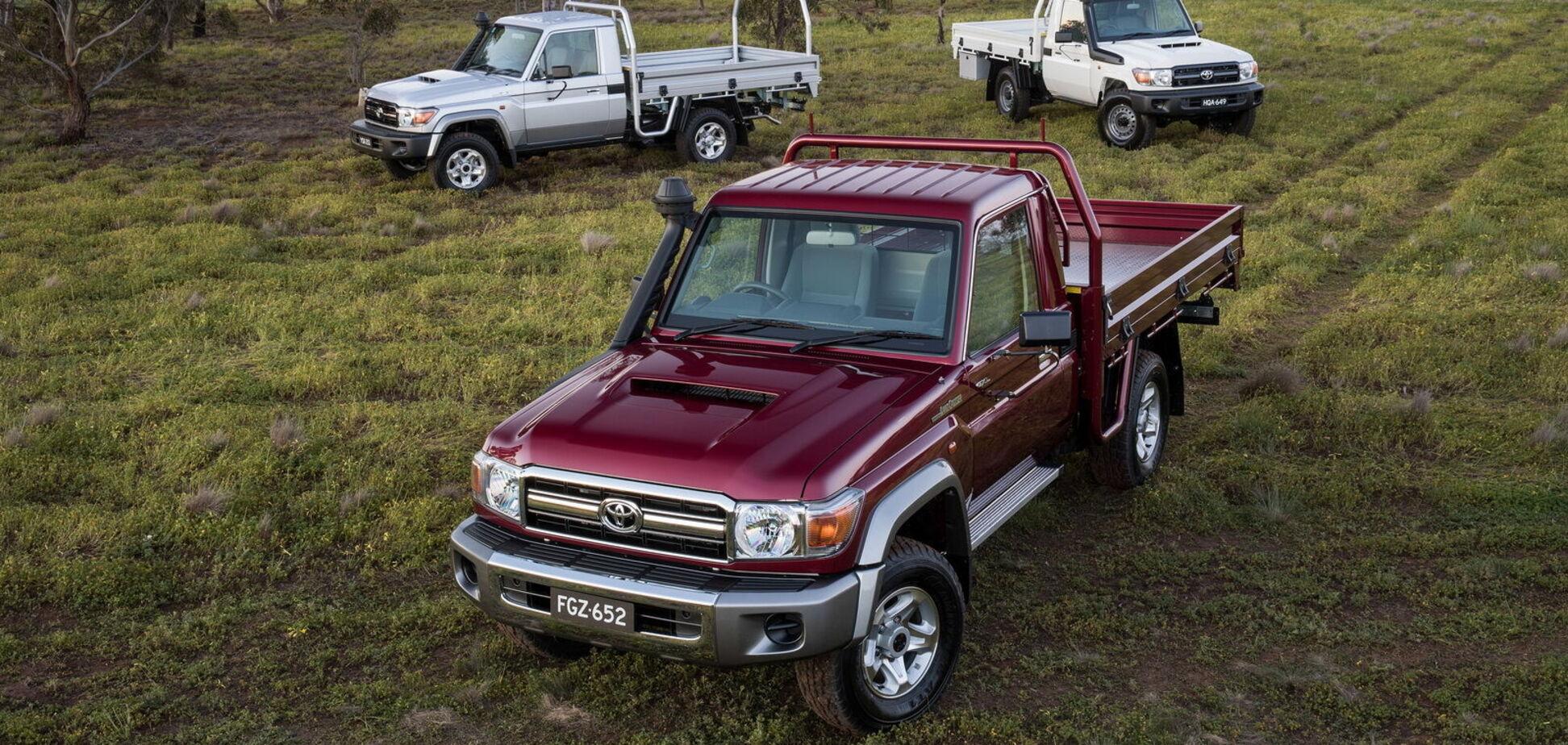 Toyota модернізує легендарне сімейство Land Cruiser 70