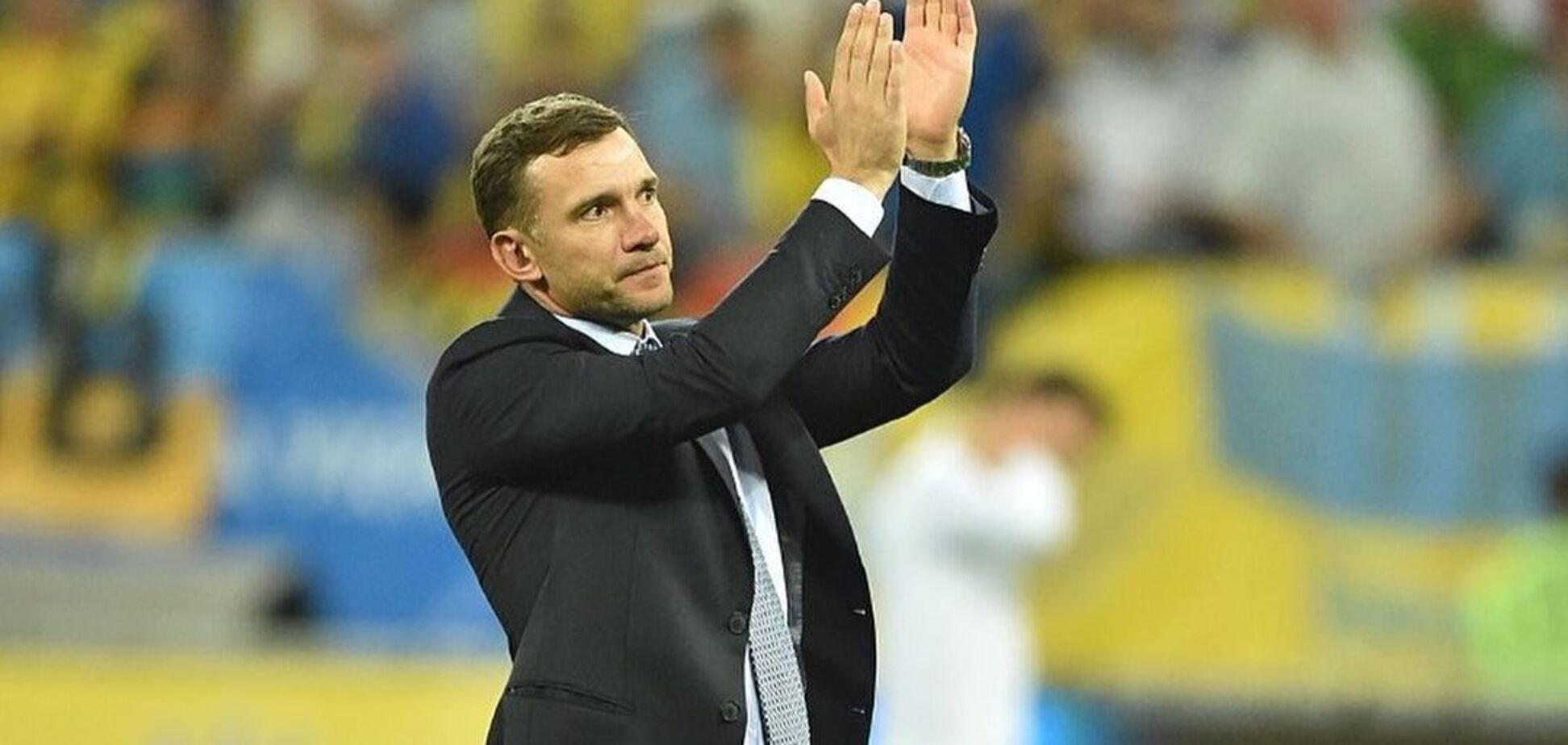 Шевченко попрощался со сборной Украины