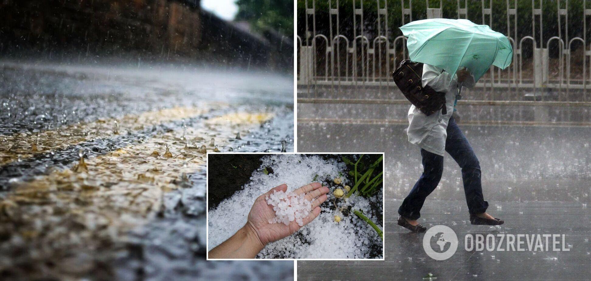 Часть Украины накроют ливни, град и шквалы: синоптики обновили прогноз на 1 августа