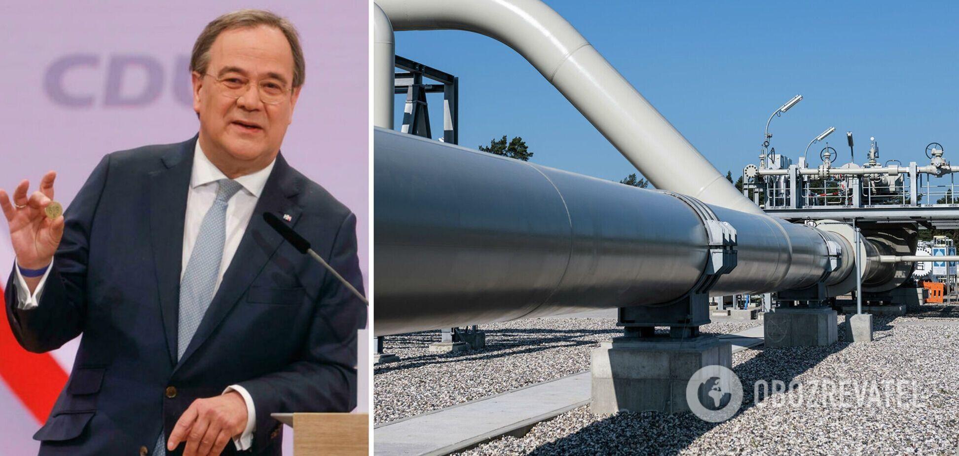 Кандидат в канцлеры Германии пригрозил заблокировать 'Северный поток-2' и назвал условие
