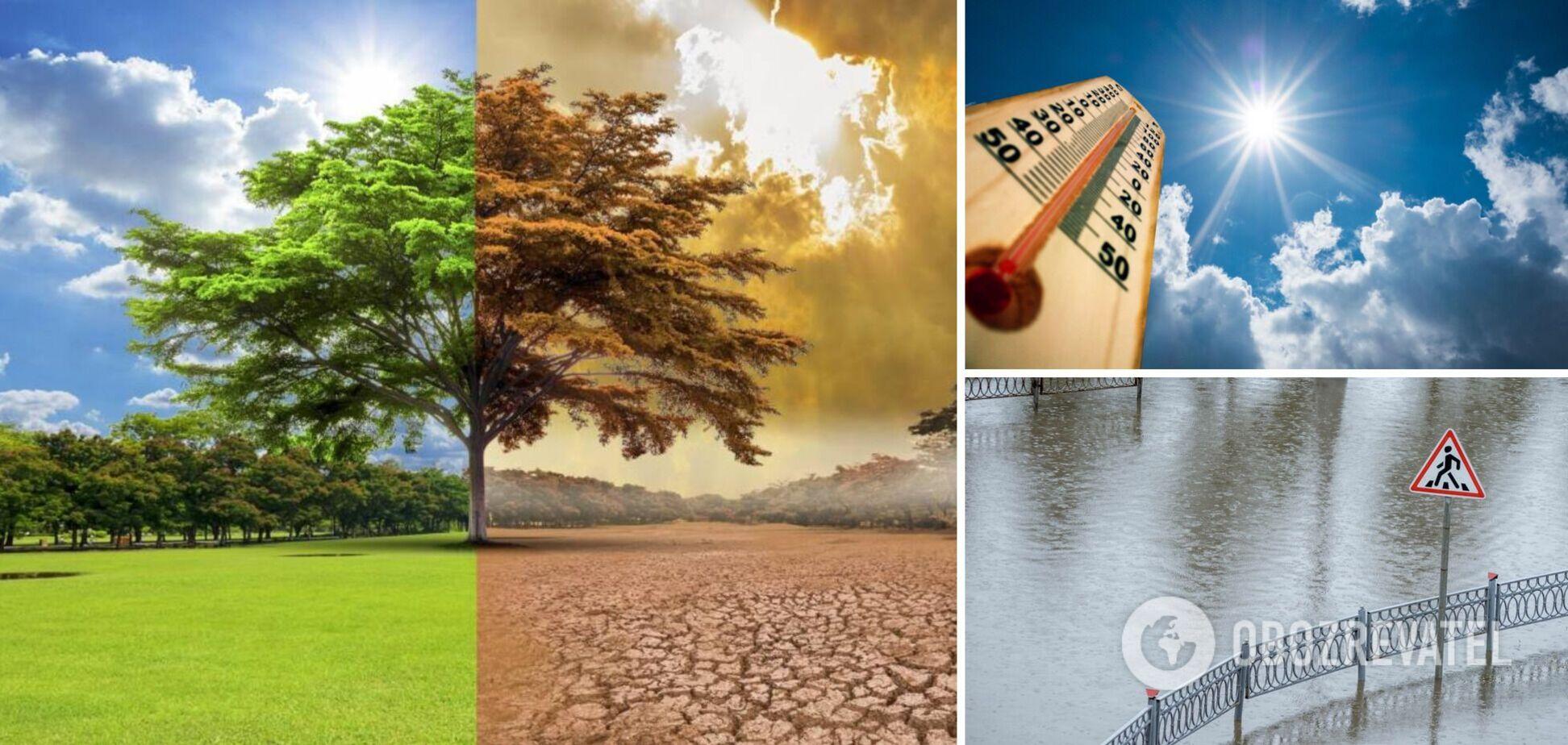 Засухи будут чередоваться с потопами, возникнут проблемы с водой: прогноз по изменениям климата в Украине