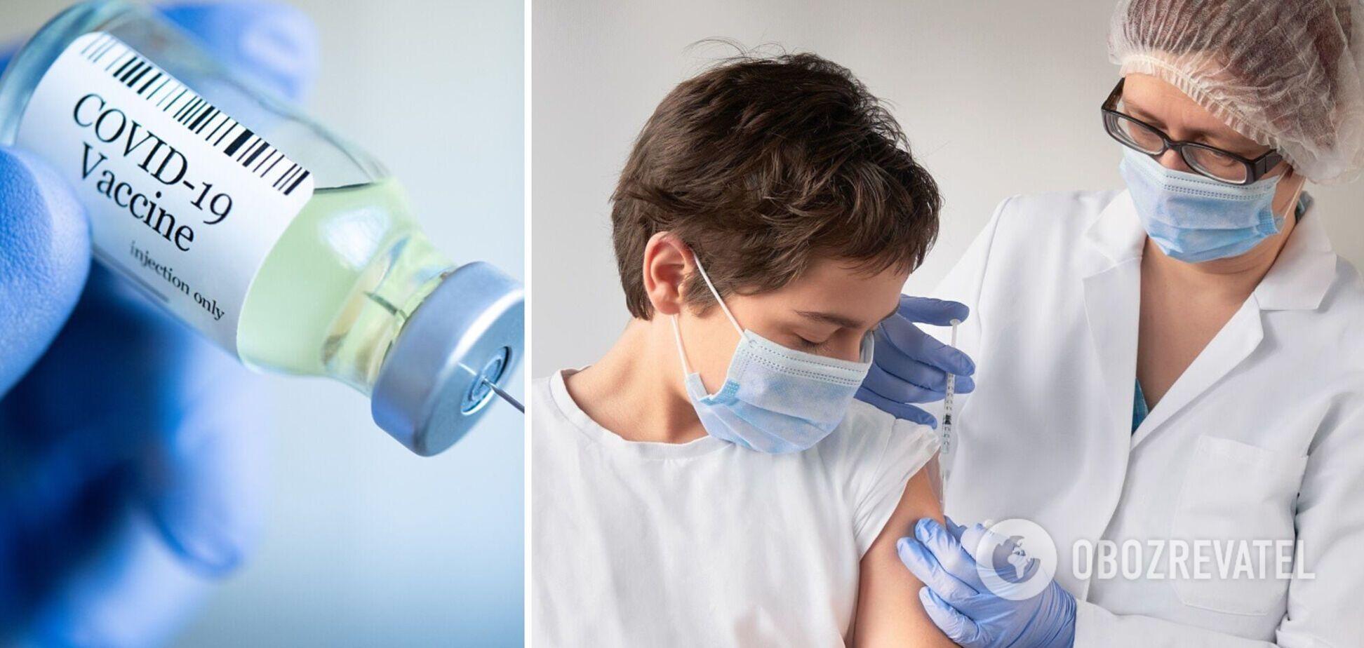 В Україні щеплення від COVID-19 будуть робити підліткам: лікарка оцінила безпечність вакцини