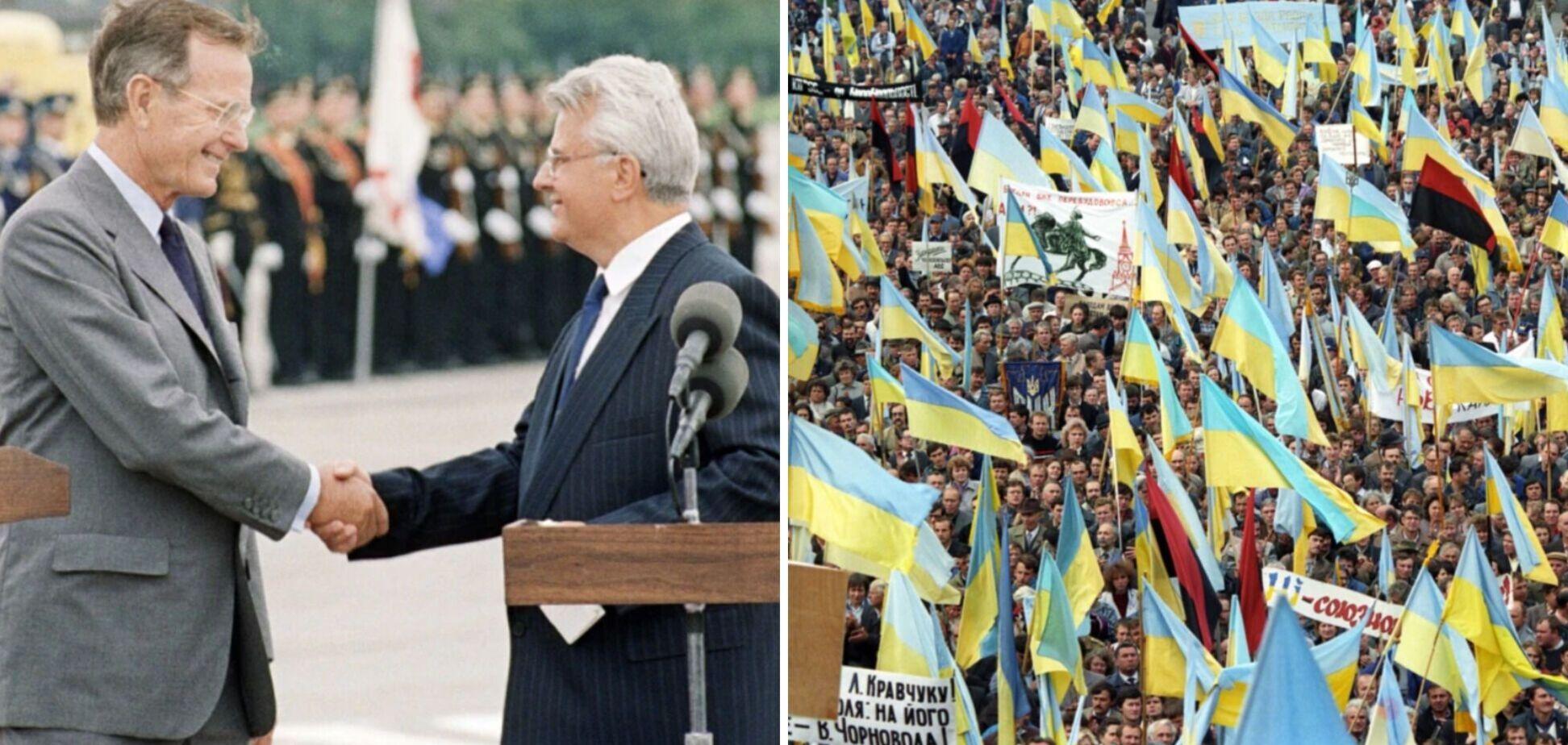 Последний визит президента США, или Кто развалил СССР