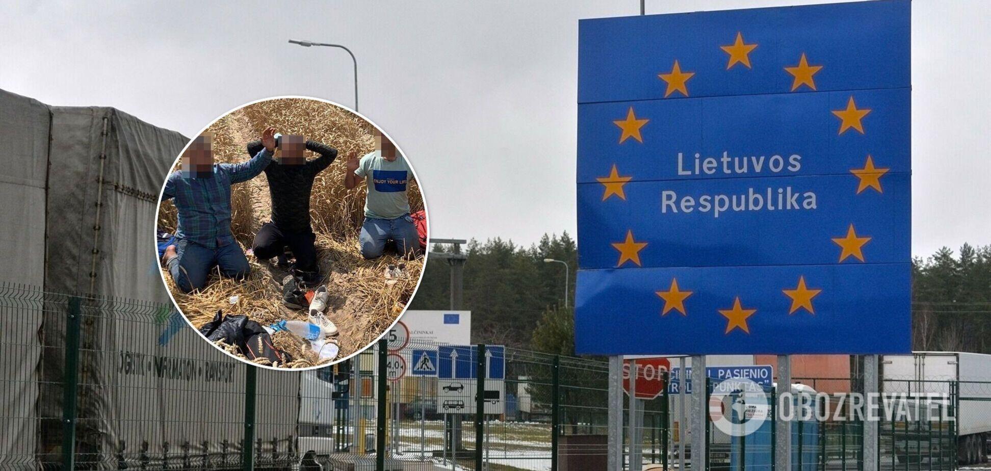 В Литве задержали рекордное количество нелегалов из Беларуси