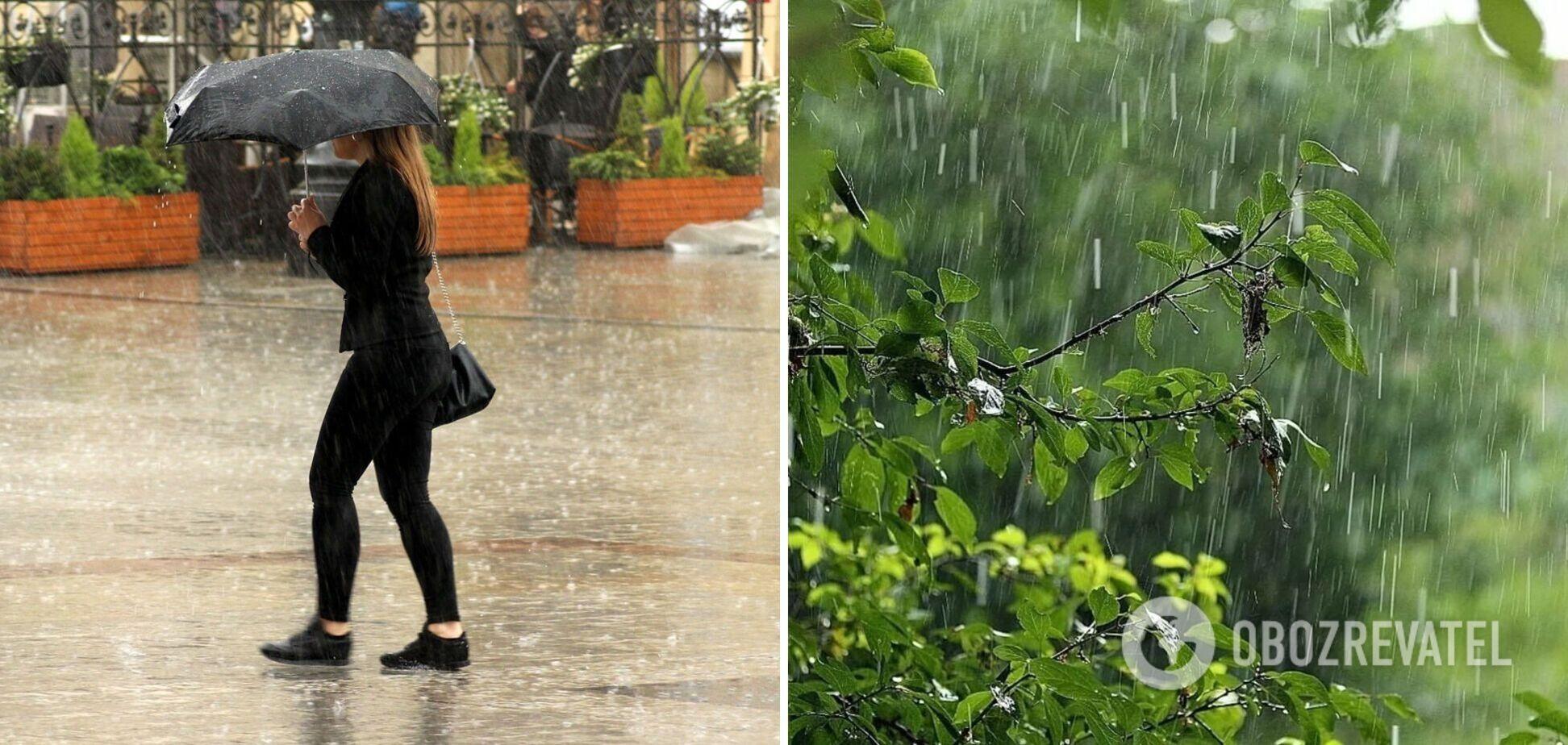 Украину будут заливать дожди, непогода обойдет только пять регионов: прогноз на понедельник