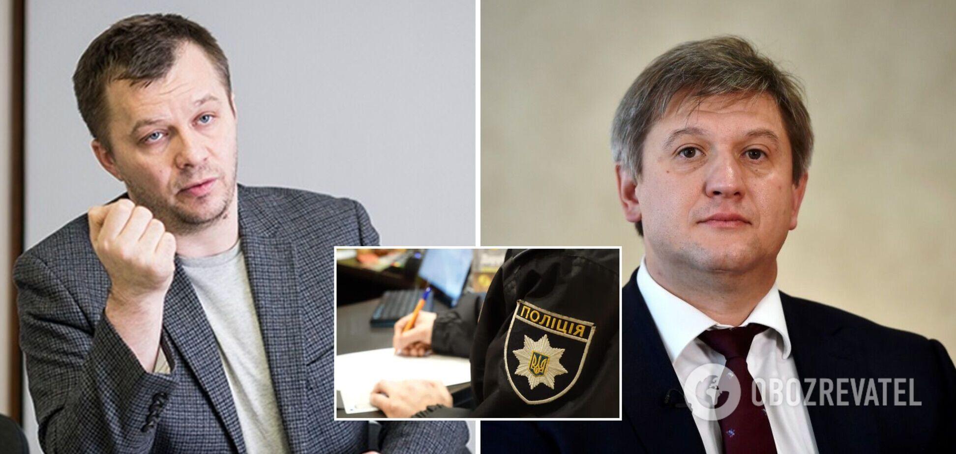 Милованов написав заяву на Данилюка в поліцію, той відповів. Ексклюзивні подробиці