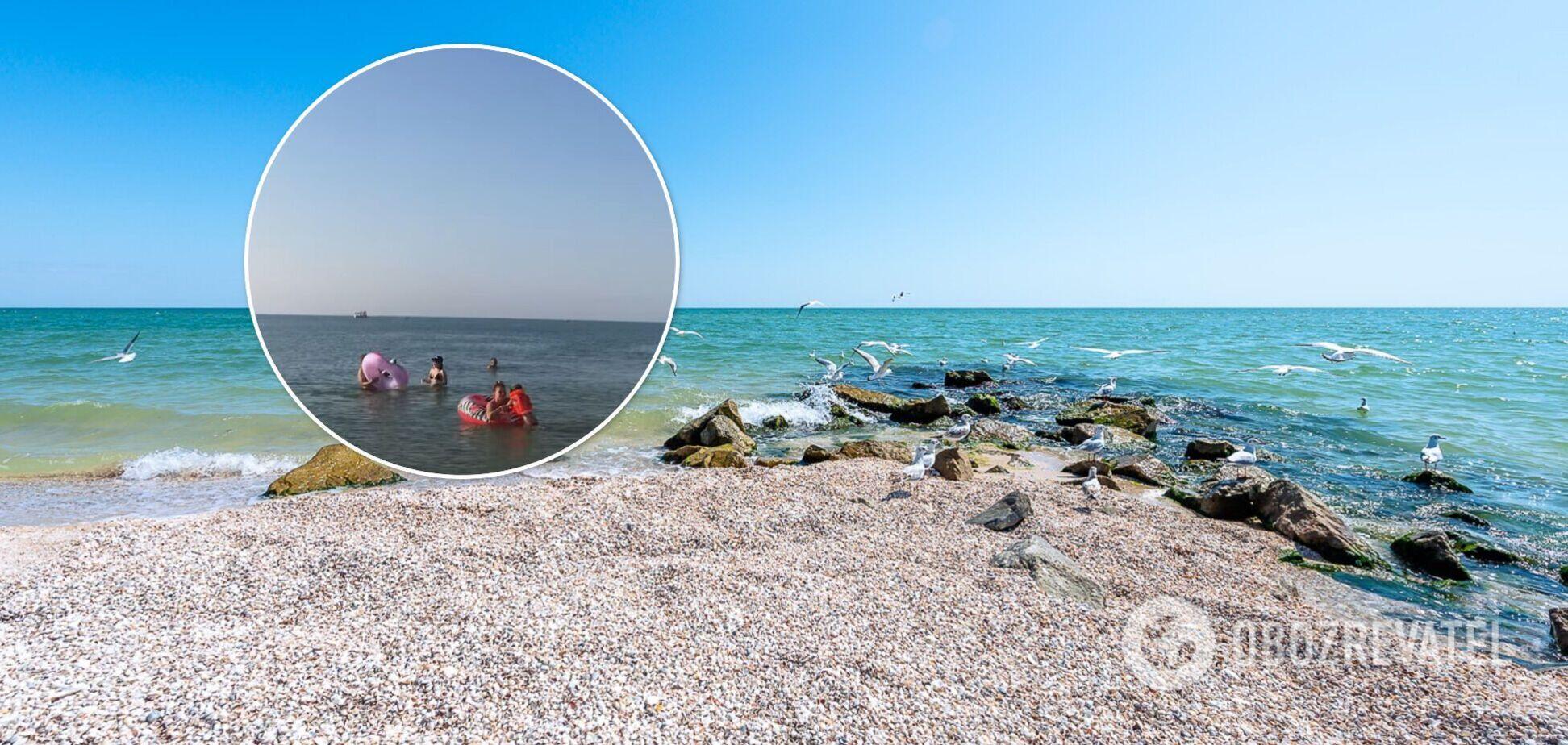 Медузы исчезли, вода радует: туристы показали свежие видео из Кирилловки и рассказали об отдыхе