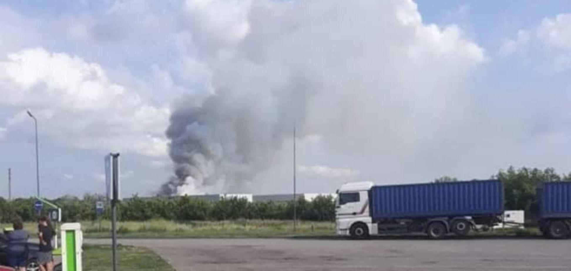 В Одеській області сталася пожежа на складах