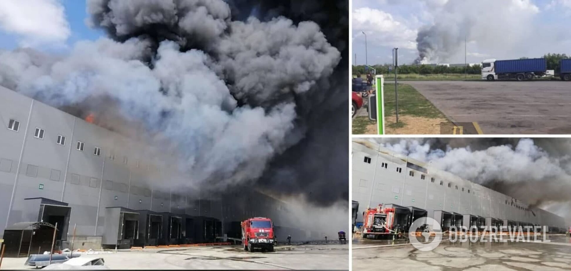 Под Одессой произошел масштабный пожар на складах: названа вероятная причина ЧП. Фото и видео