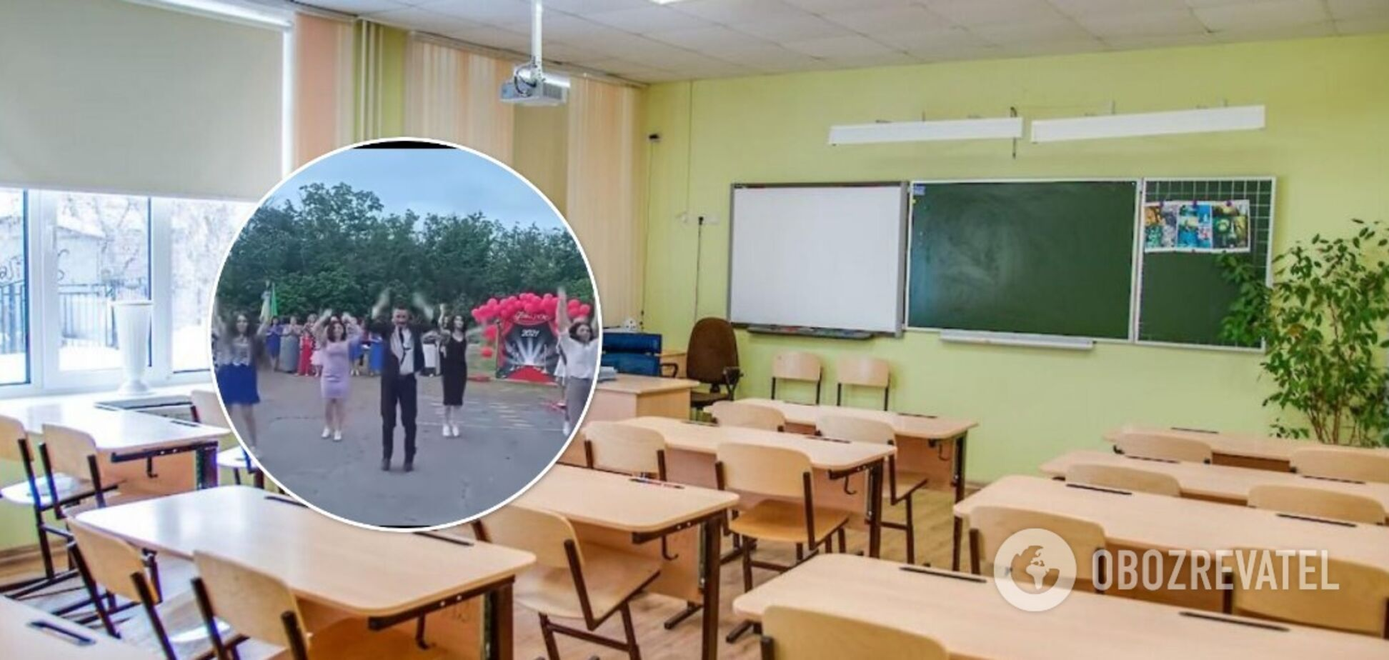 Учитель із Полтавщини підкорив мережу танцем на випускному