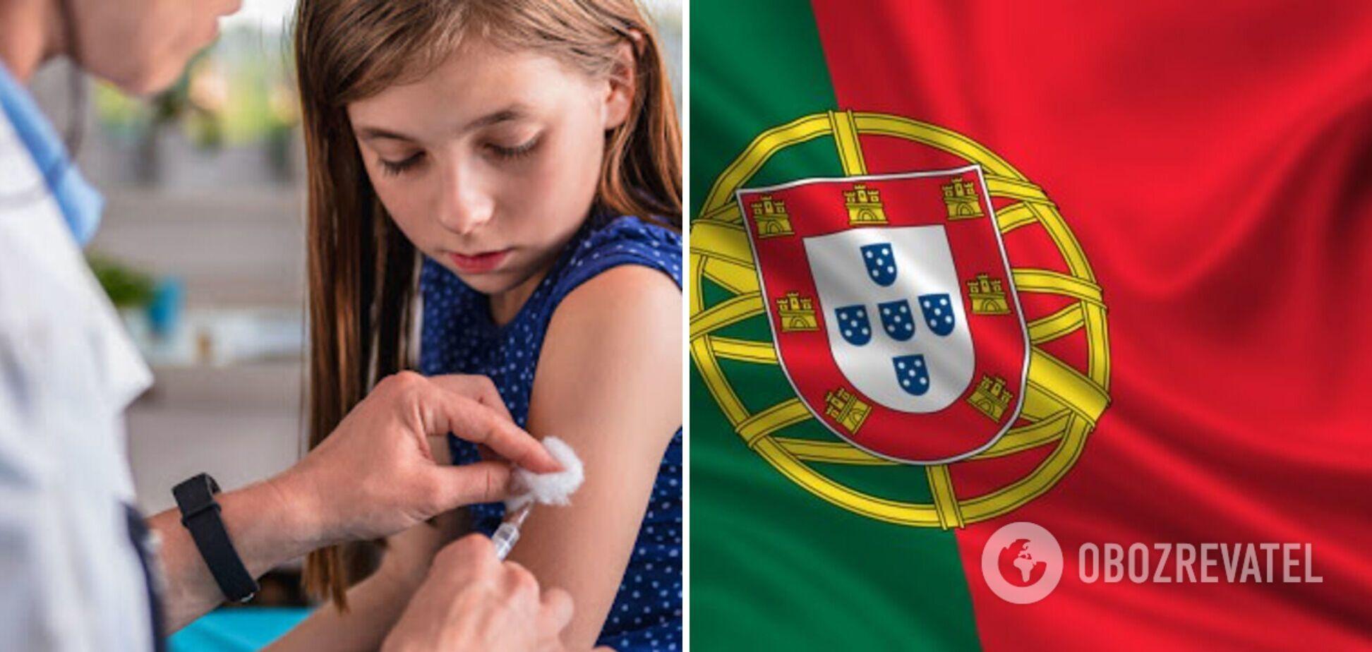 У Португалії дозволили вакцинувати проти COVID-19 підлітків від 12 років