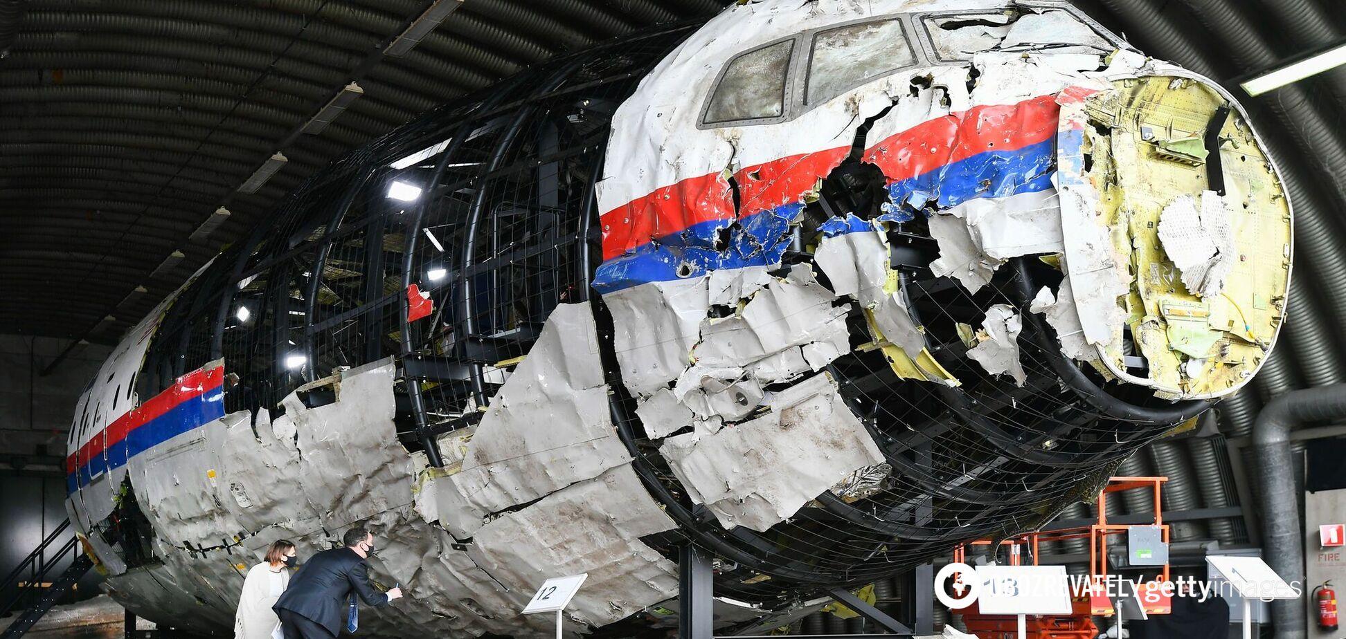 Збитий на Донбасі Boeing 777