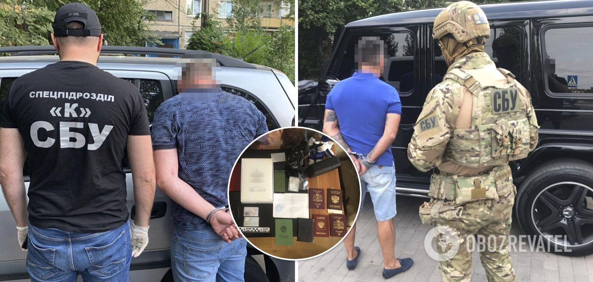 СБУ спіймала кримінального 'авторитета', який 10 років тероризував Кривий Ріг. Фото і відео