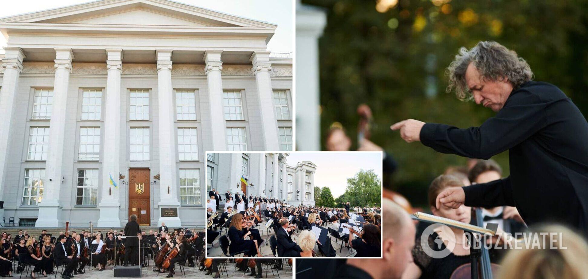 Во дворе Национального музея истории Украины в Киеве состоится концерт-финал всеукраинского композиторского конкурса 'Украинская концертная увертюра'