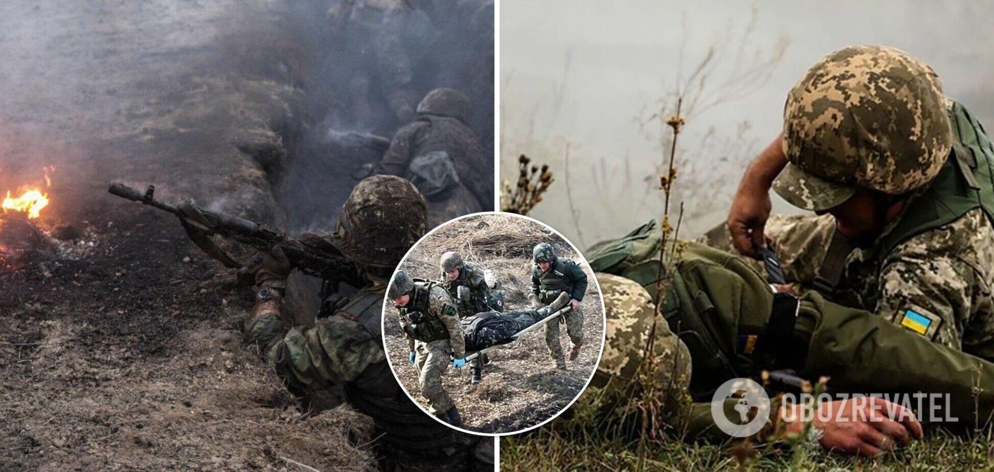 На Донбасі поранено трьох військовослужбовців ЗСУ