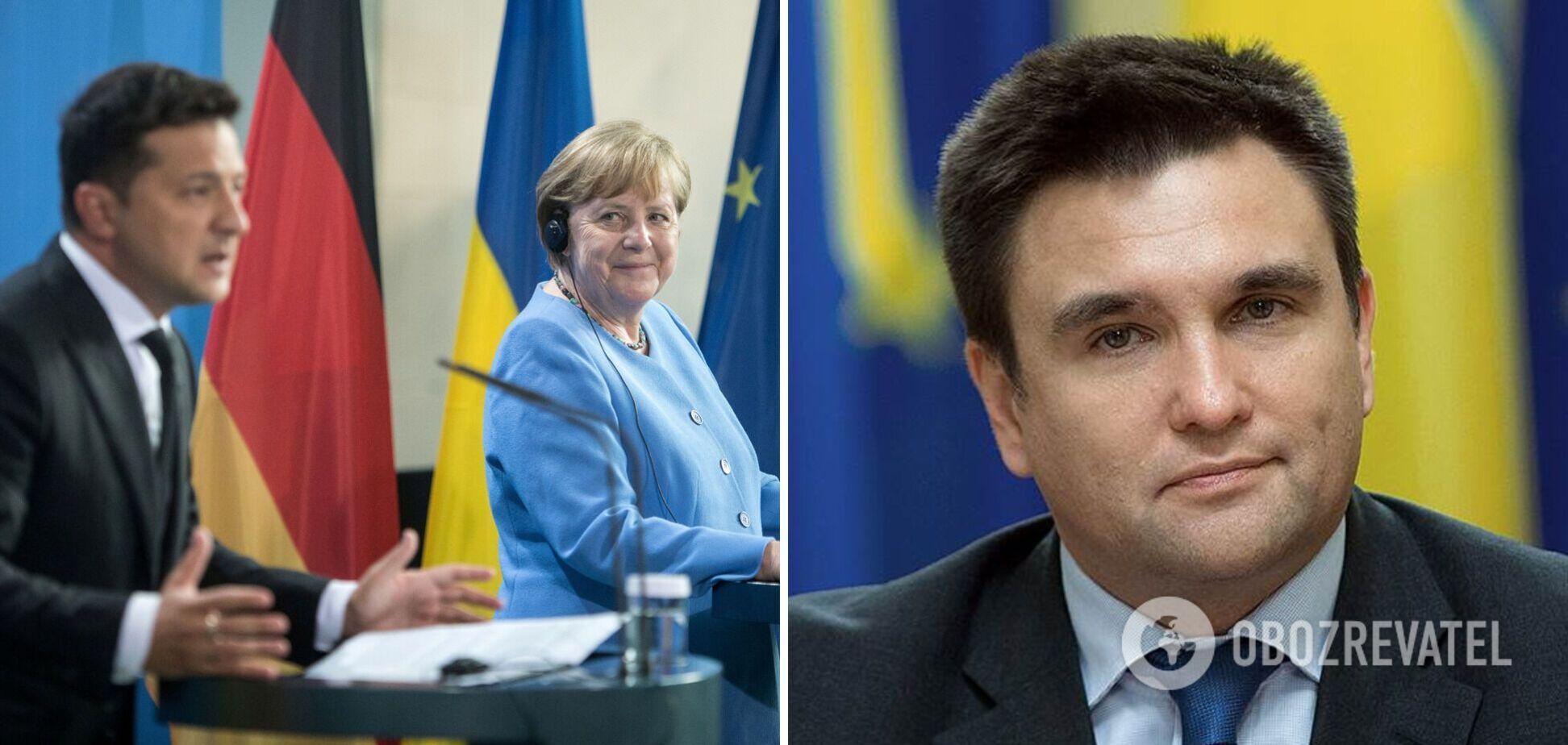 Ситуація для України може погіршитися? Клімкін сказав, чого чекати від зустрічі Меркель і Зеленського