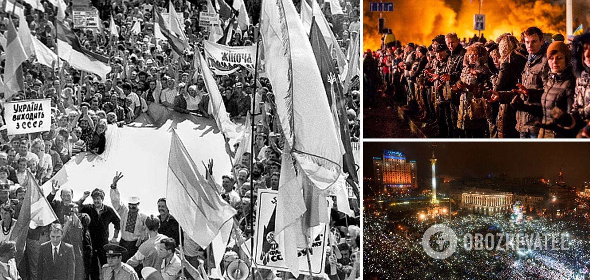 Пять уроков первых тридцати лет независимости Украины