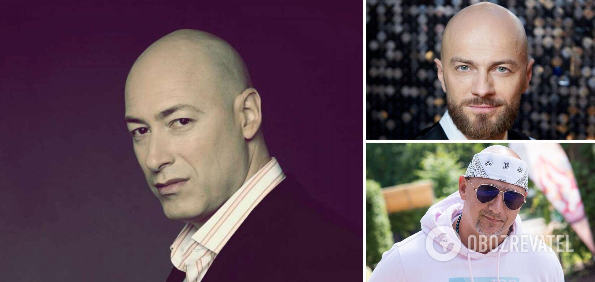 Гордон, Яма, Потап и другие: как лысые украинские звезды выглядели до популярности. Фото