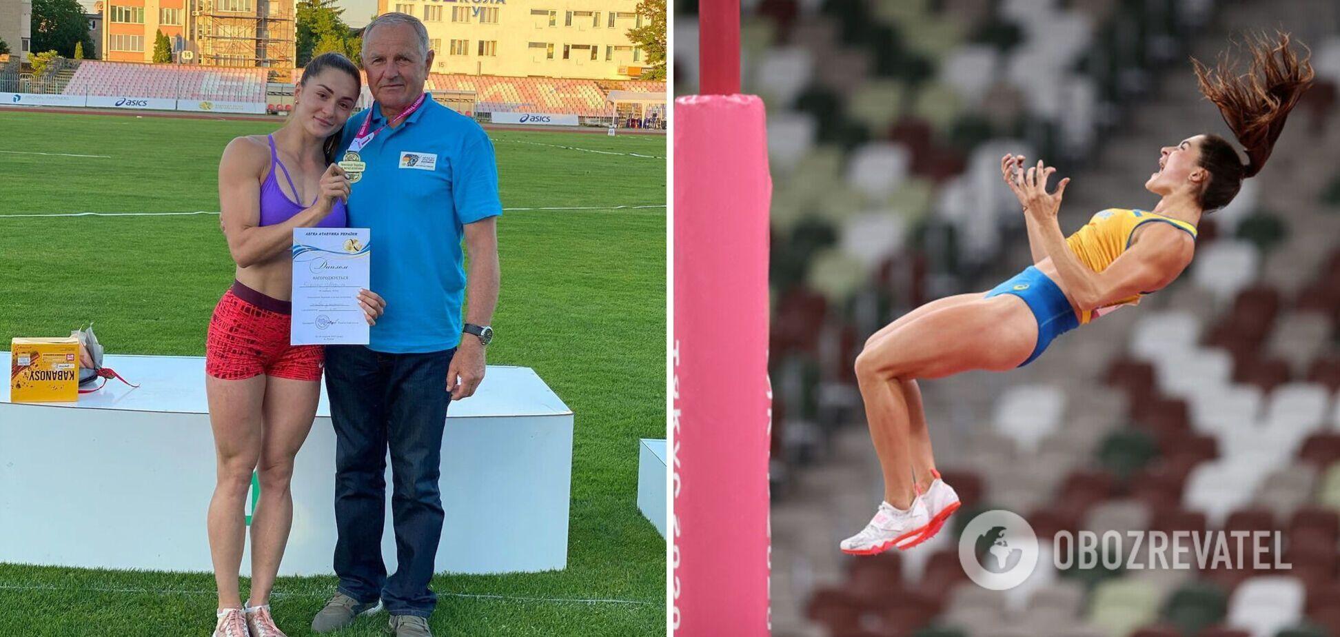 Марина Килипко и ее тренер