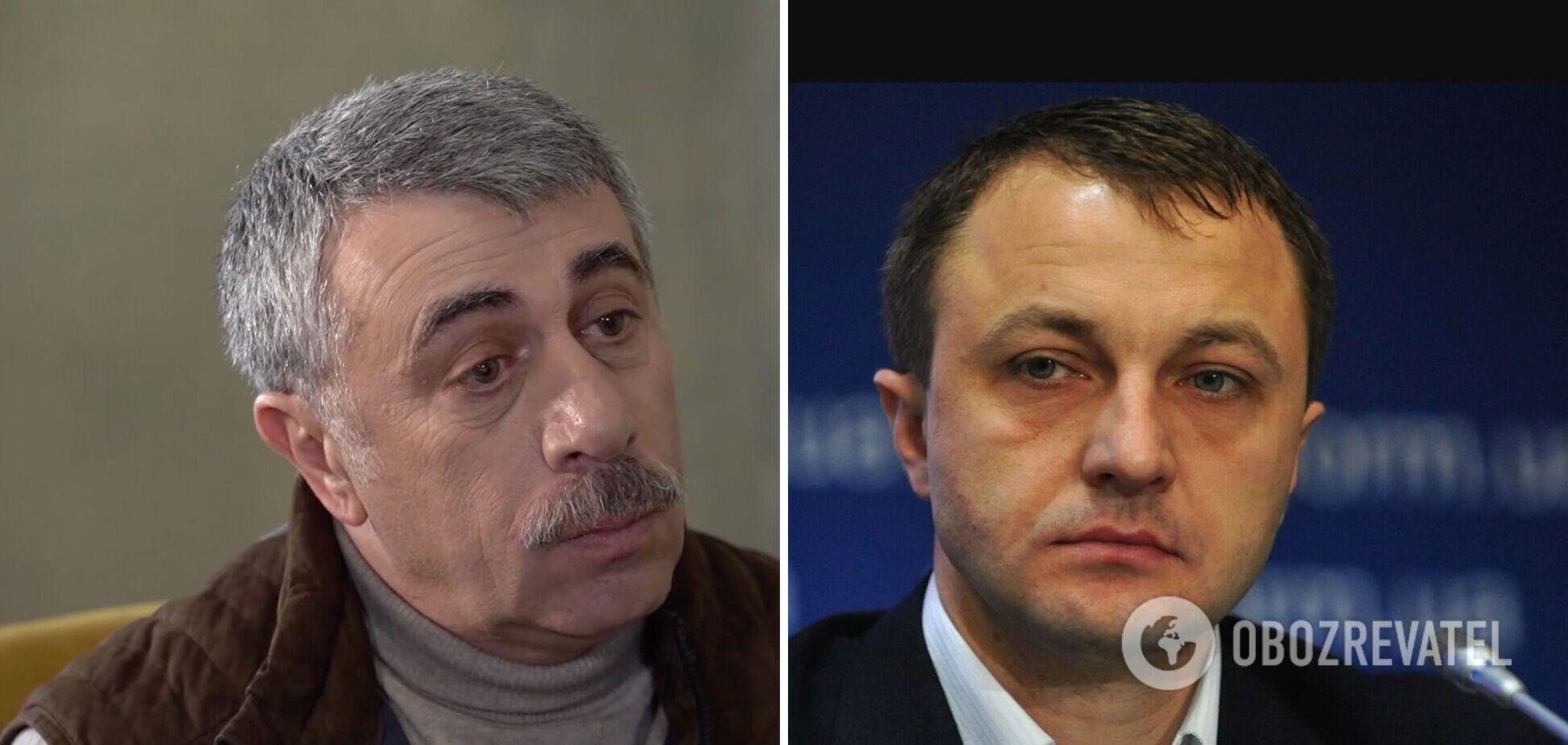 Языковой омбудсмен ответил Комаровскому на критику: есть Конституция, есть закон