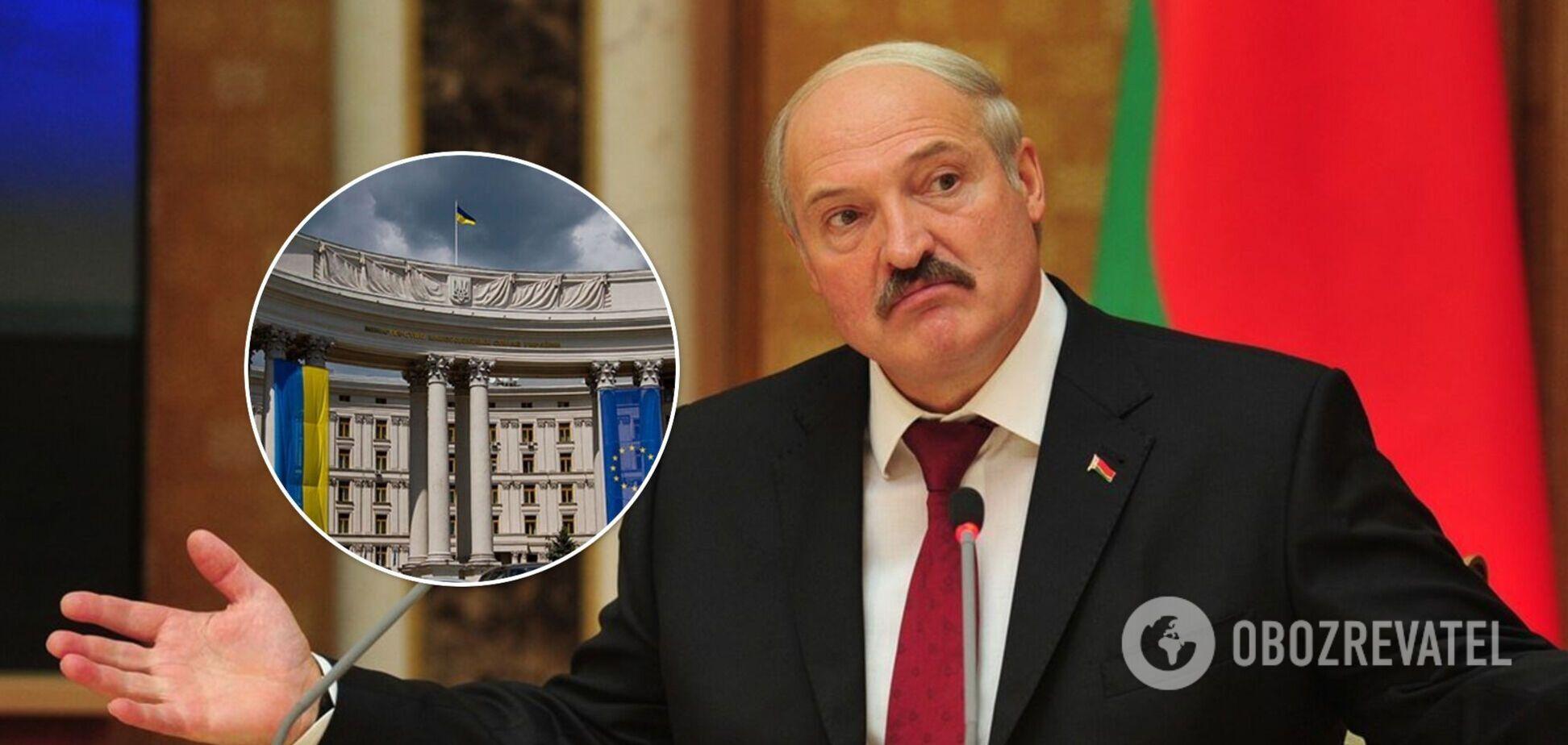 Посла Беларуси вызвали в МИД после скандальных заявлений Лукашенко об Украине