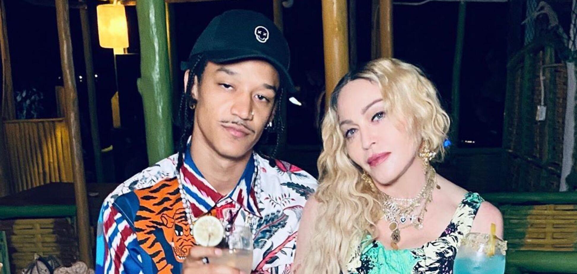 62-річна Мадонна здивувала величезною різницею у зрості зі своїм 26-річним хлопцем. Фото