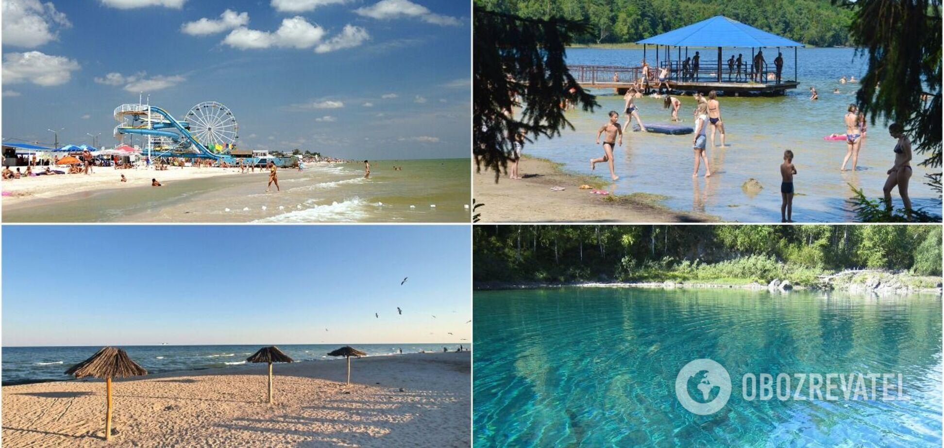 Озера чи море: де в Україні можна добре й недорого відпочити. Ціни, умови та всі переваги
