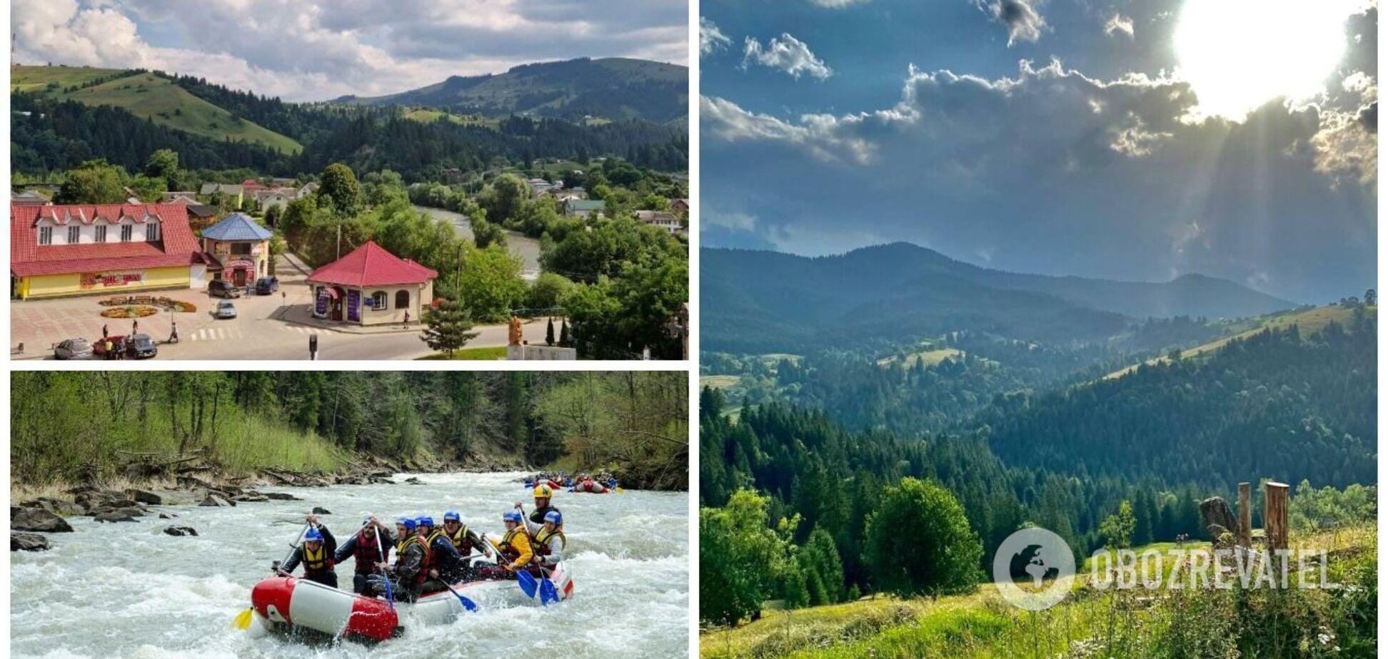 Відпочинок у Верховині: житло від 200 грн за добу, активні розваги і пам'ятки. Фото