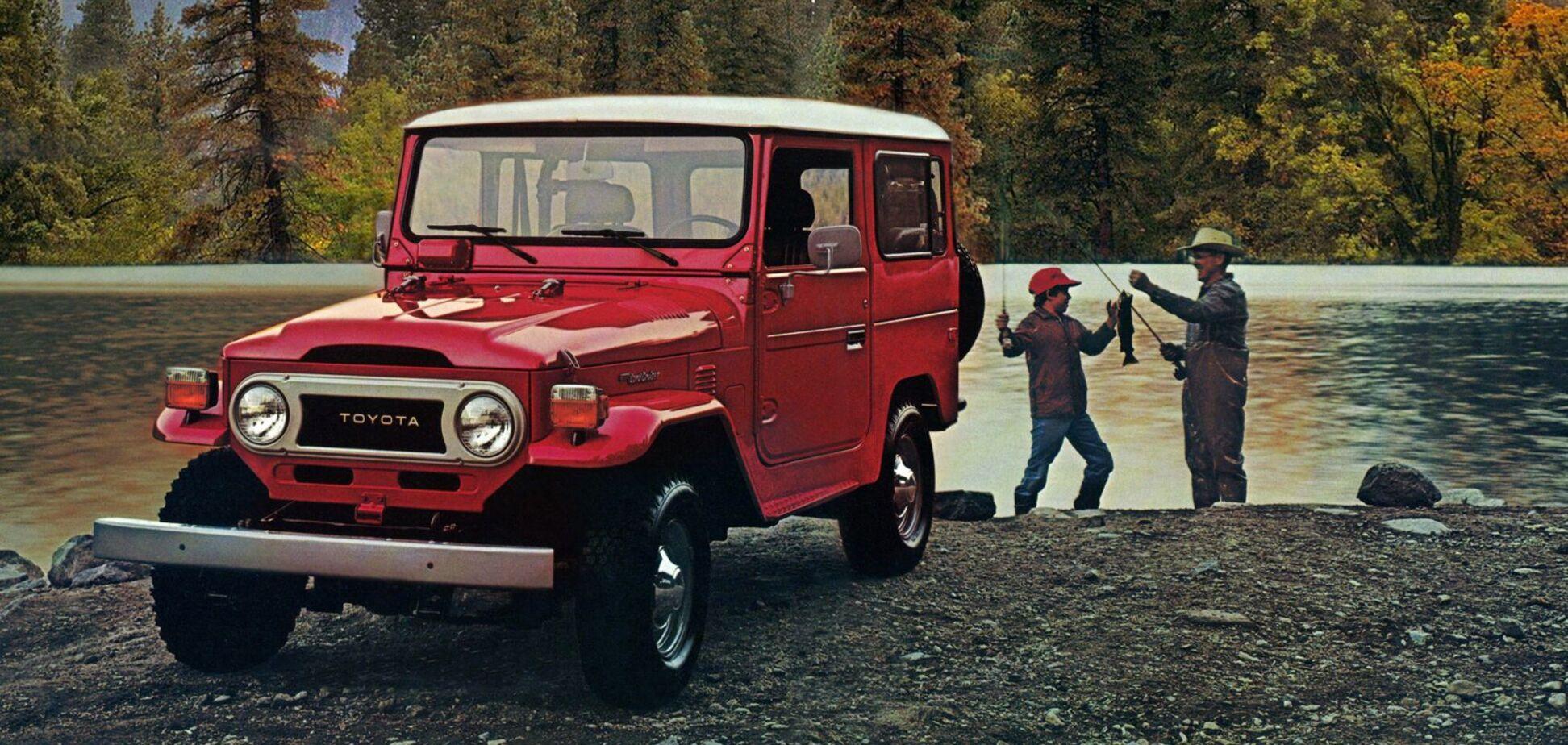Toyota подбає про любителів ретро позашляховиків