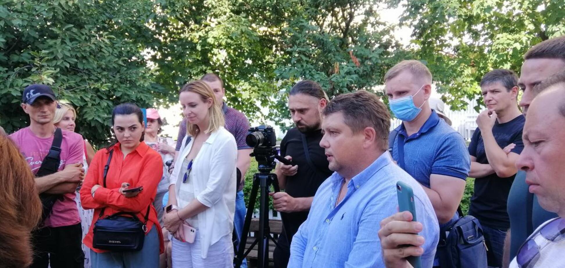 Состоялось выездное рабочее совещание, посвященное строительству на улице Никольско-Слободская