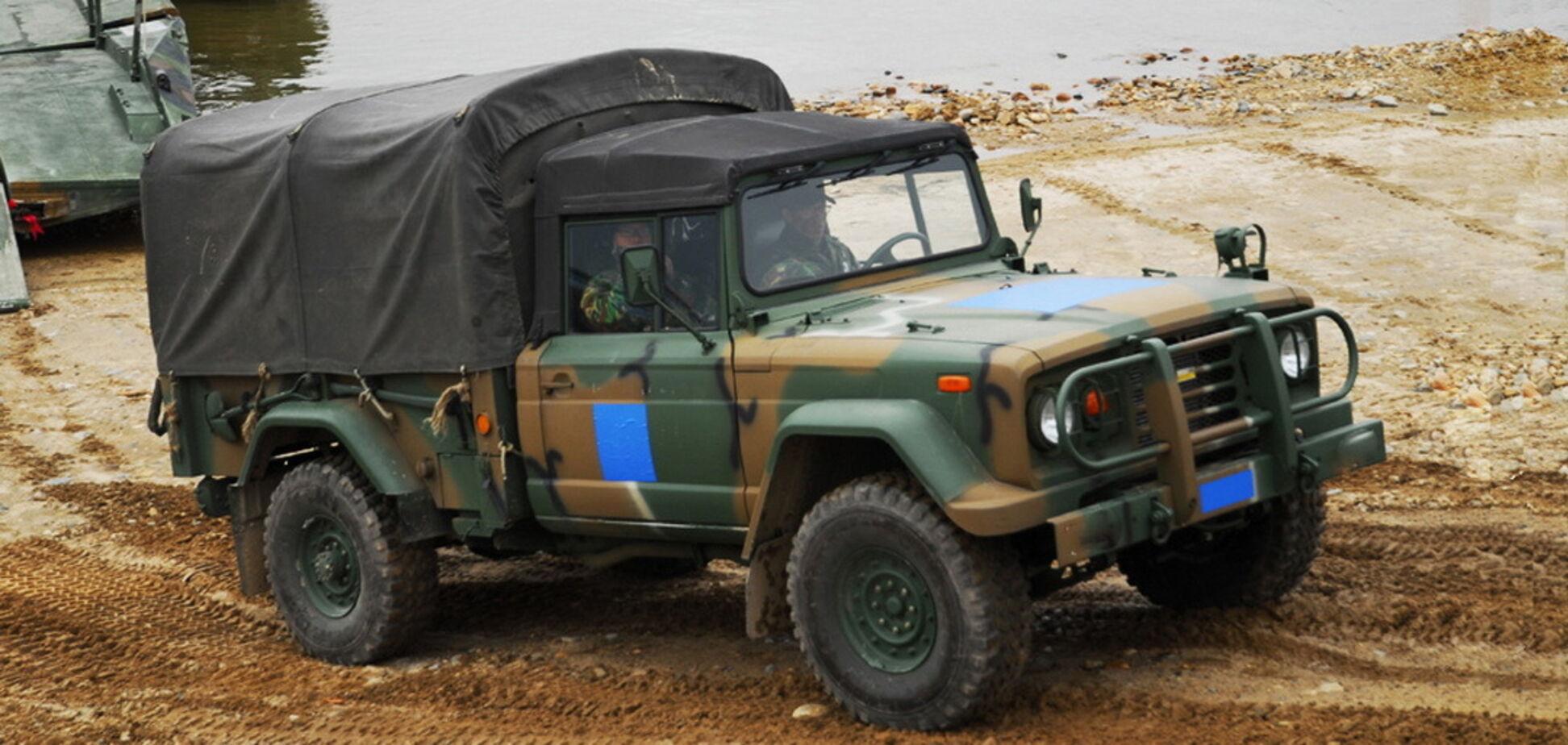 В українській армії корейські Kia прийдуть на зміну російським УАЗам