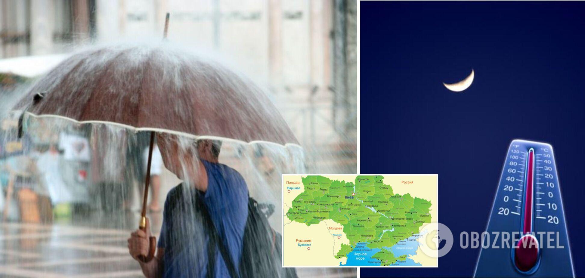 Тропічні ночі, потужні зливи і потопи: озвучений прогноз щодо змін клімату в Україні