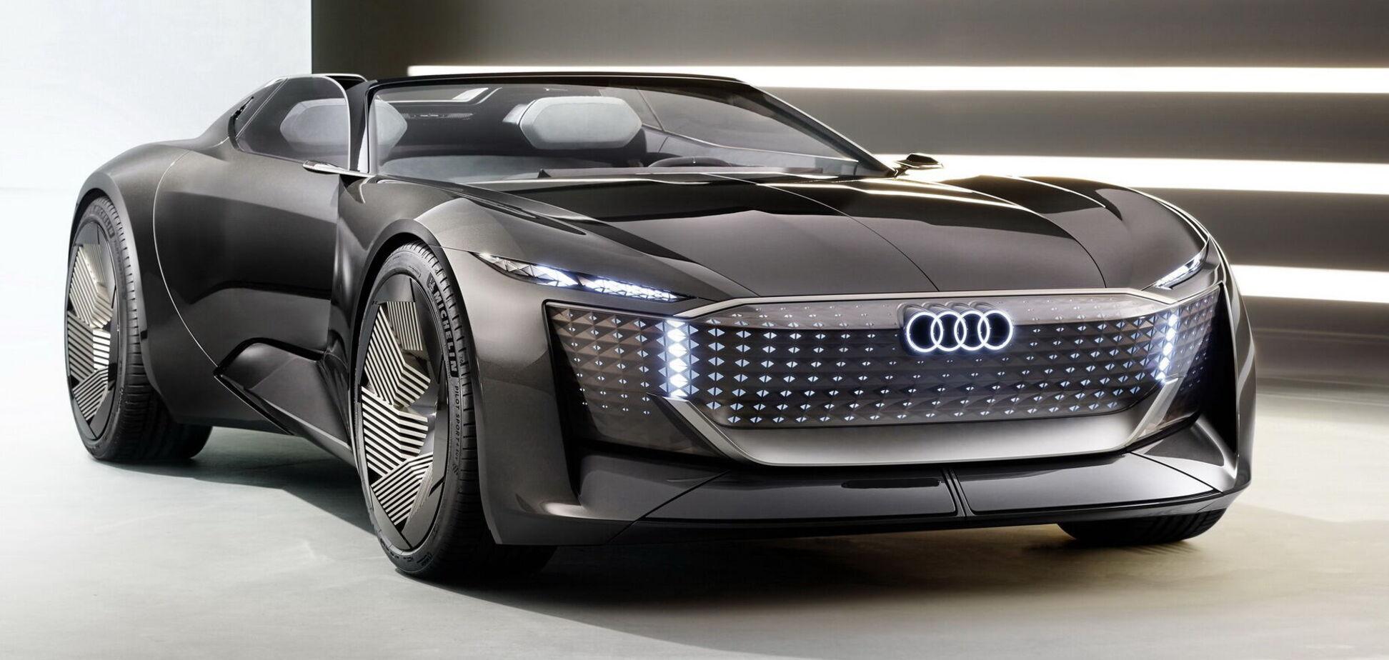 Audi показала родстер Skysphere із змінною базою. Відео